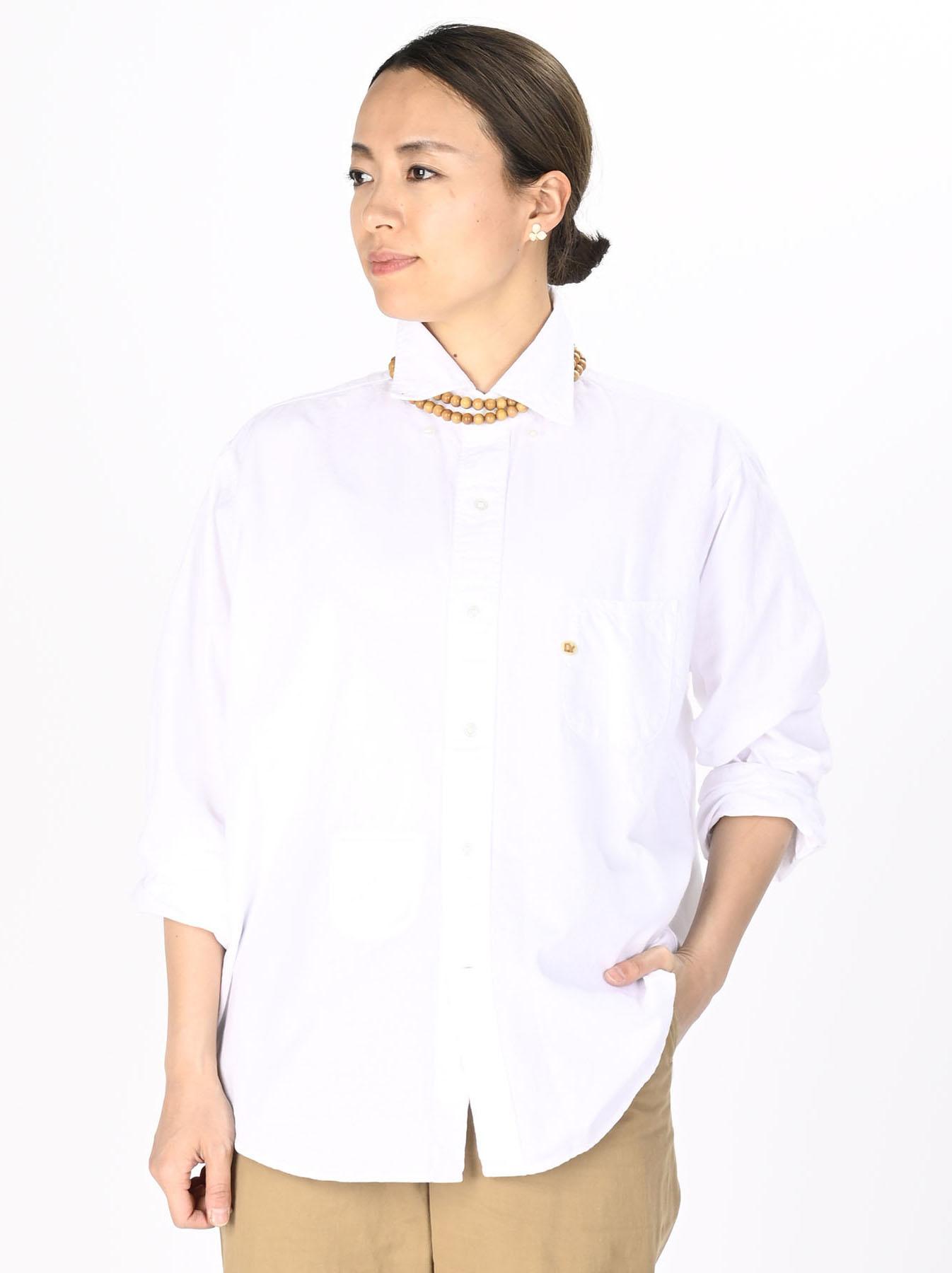 Indian Okome-hira 908 Ocean Button Down Shirt (0321)-7