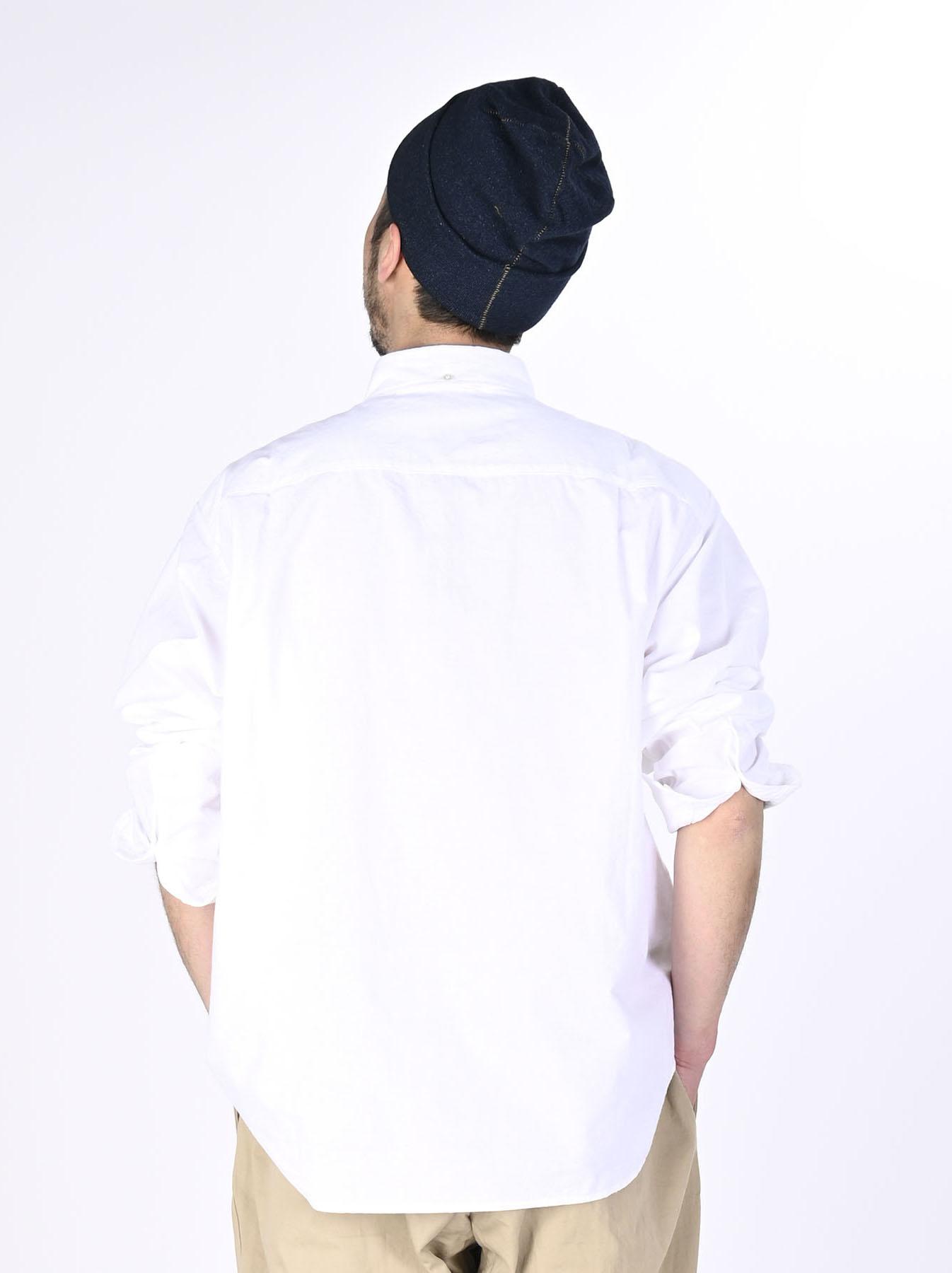 Indian Okome-hira 908 Ocean Button Down Shirt (0321)-5