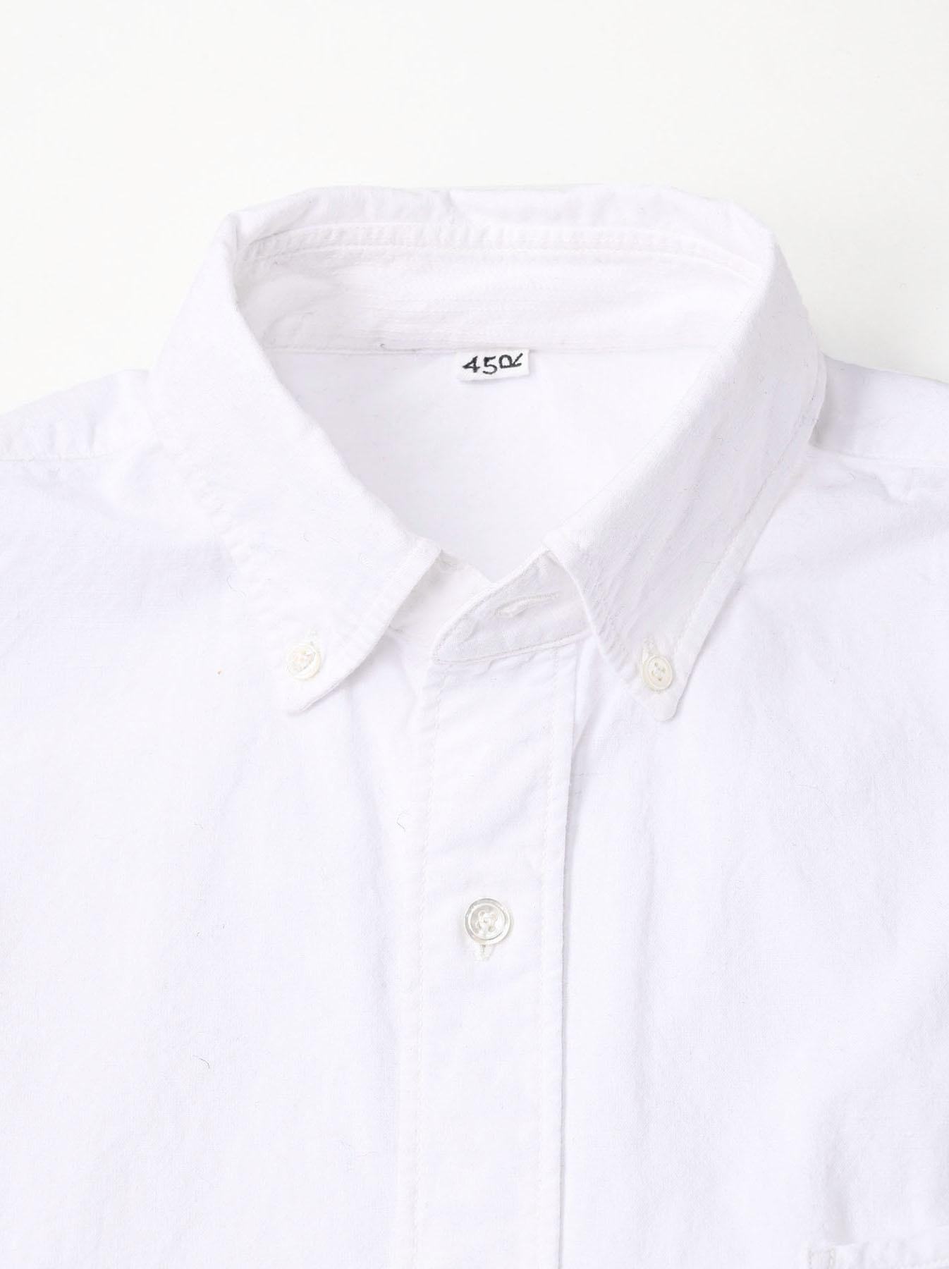 Indian Okome-hira 908 Ocean Button Down Shirt (0321)-10