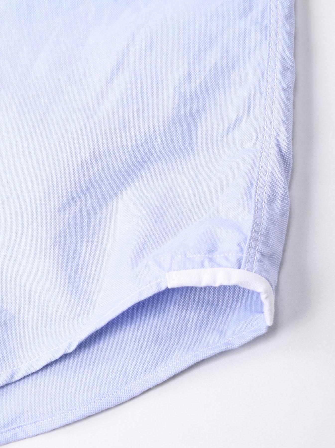 Oxford Stand Collar Ocean Basque Shirt (0321)-11
