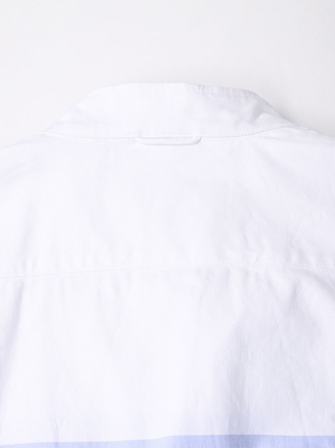 Oxford Stand Collar Ocean Basque Shirt (0321)-9