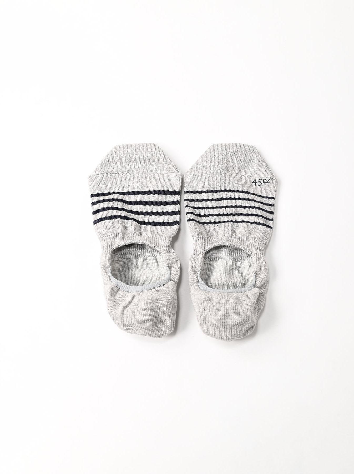 Basque Border Sole Socks (0321)-5