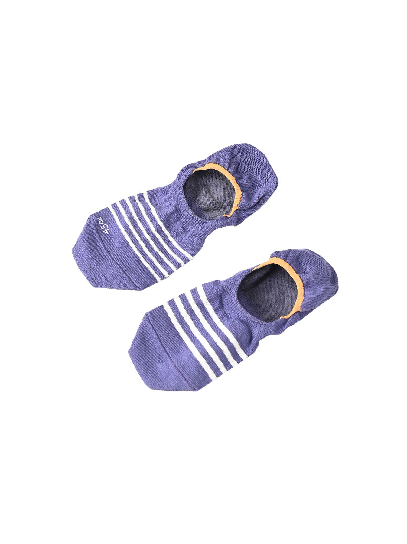 Basque Border Sole Socks (0321)-1