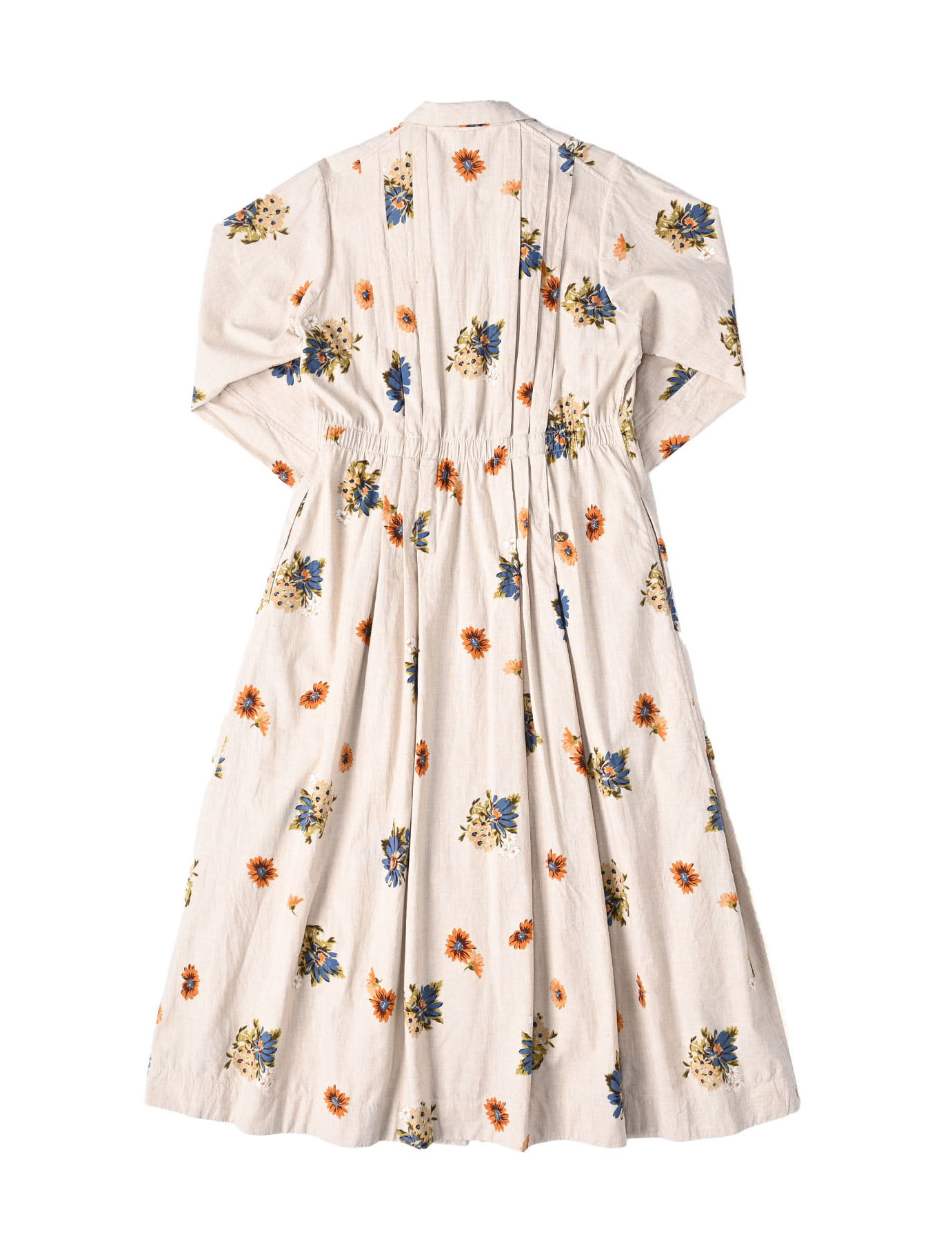 Margaret Print Dress (0321)-5