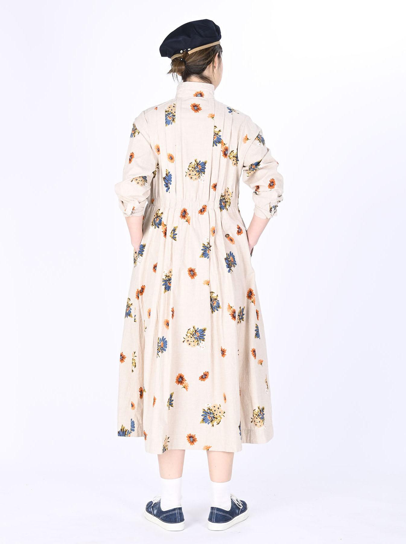 Margaret Print Dress (0321)-4