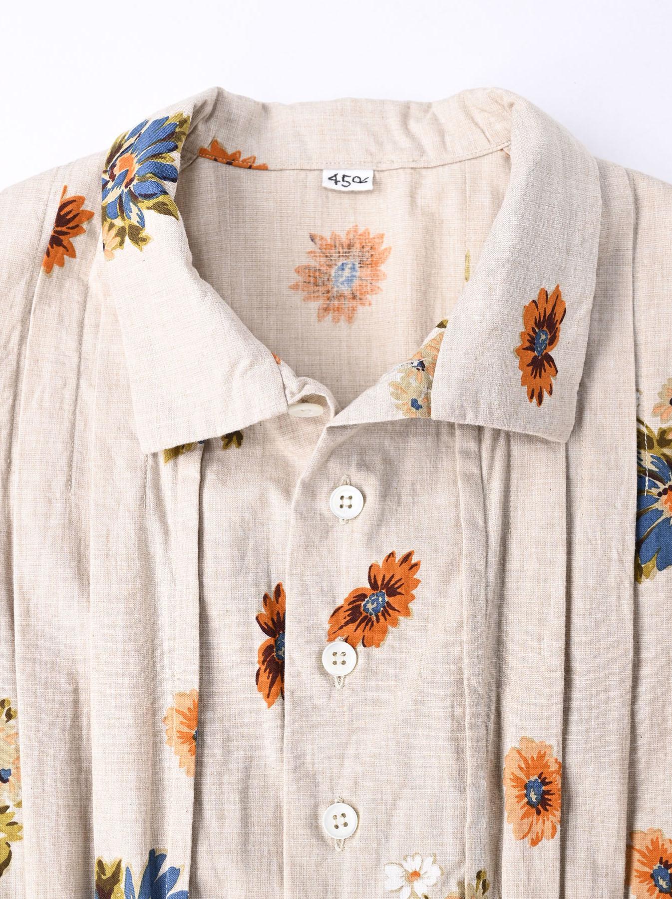 Margaret Print Dress (0321)-6