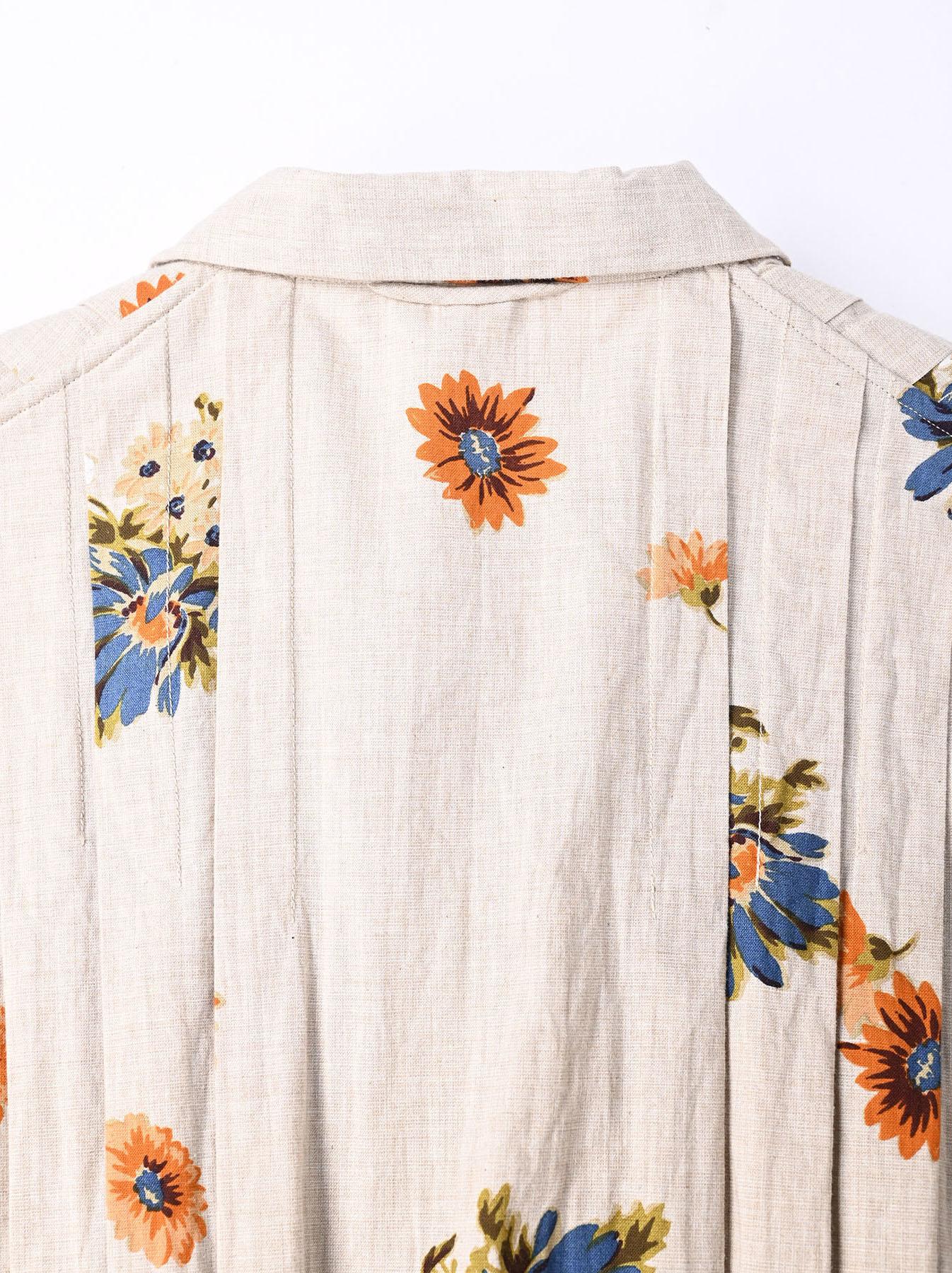 Margaret Print Dress (0321)-8