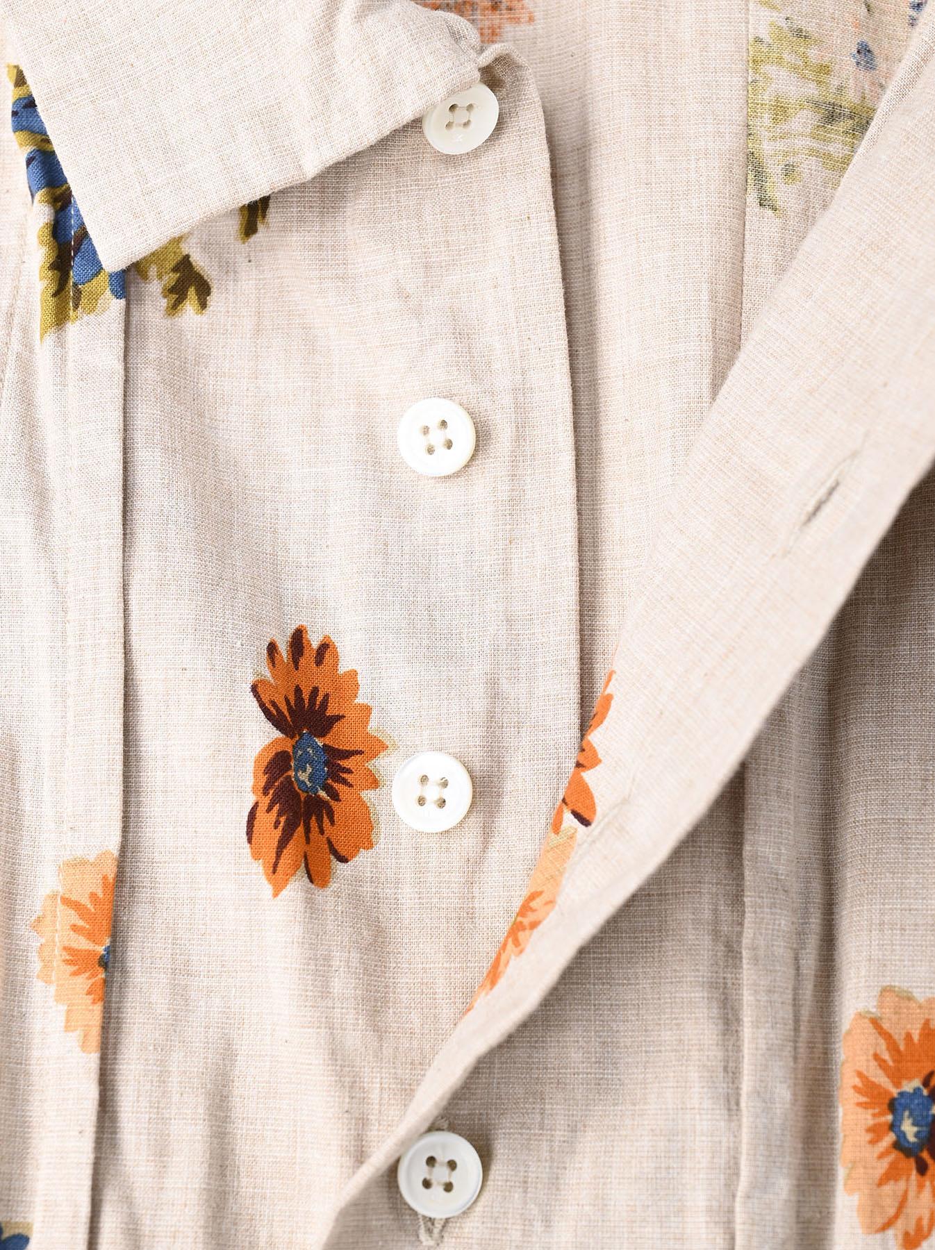 Margaret Print Dress (0321)-7