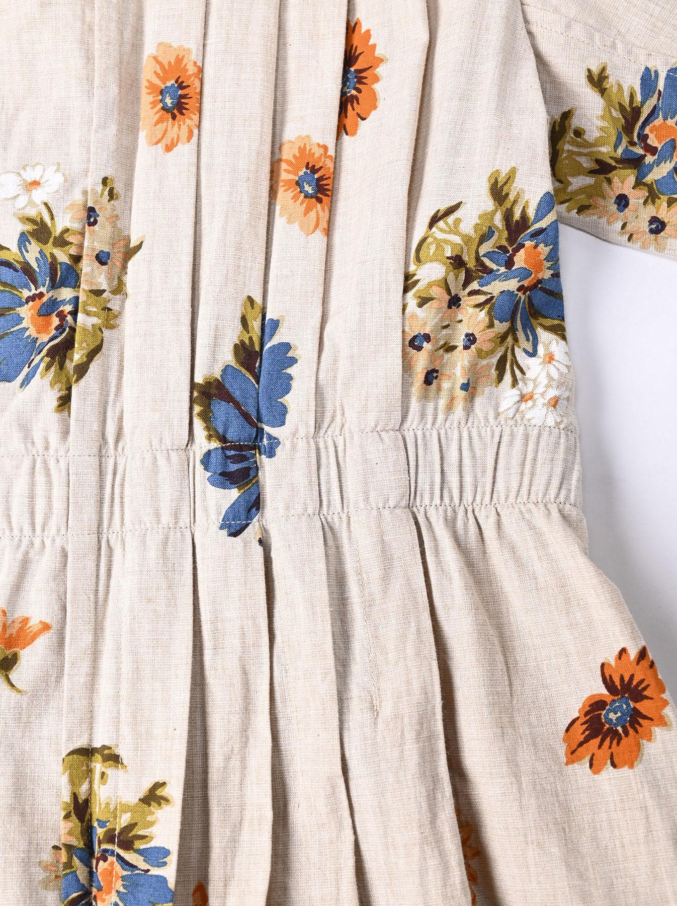 Margaret Print Dress (0321)-9