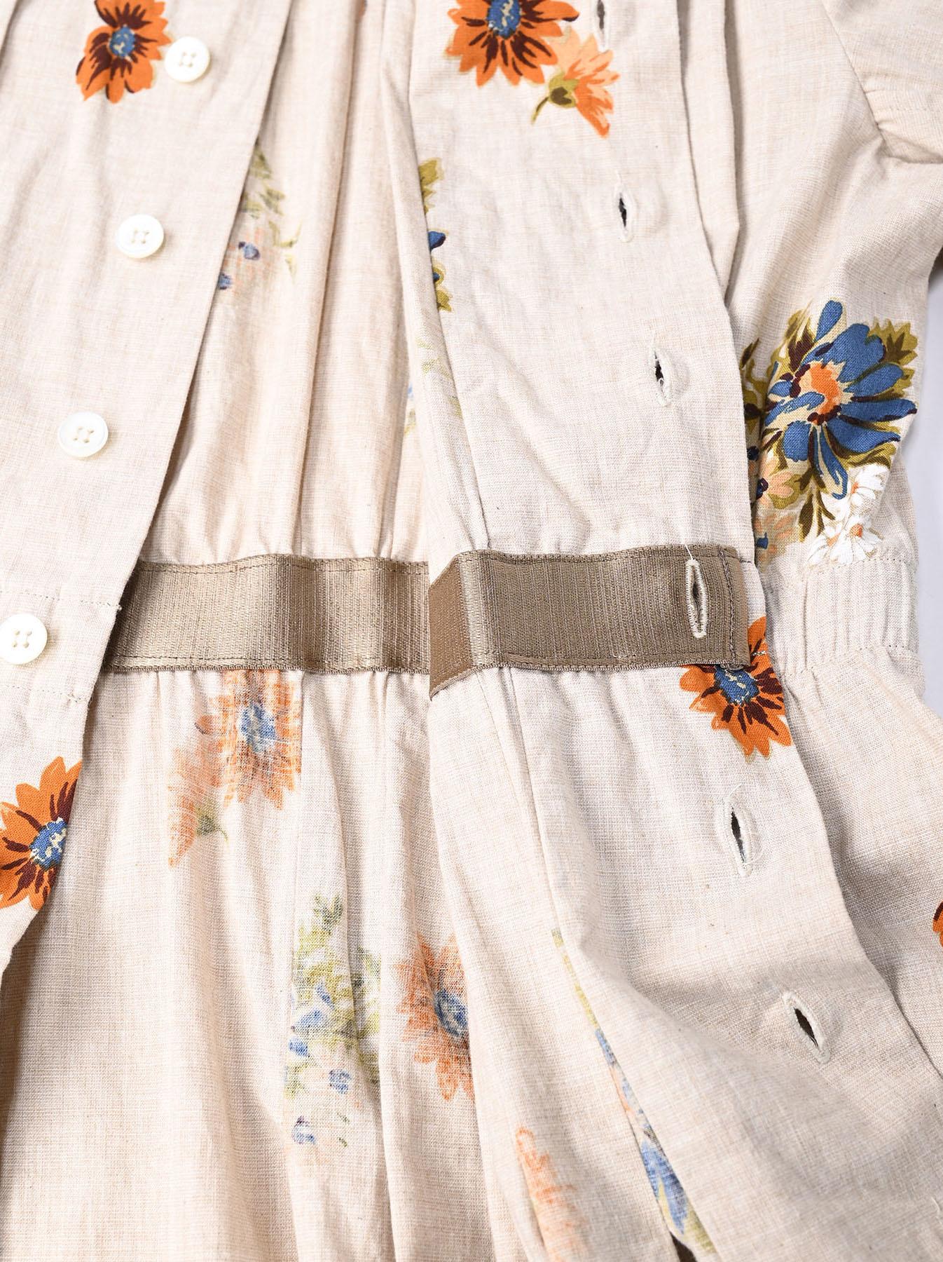 Margaret Print Dress (0321)-12