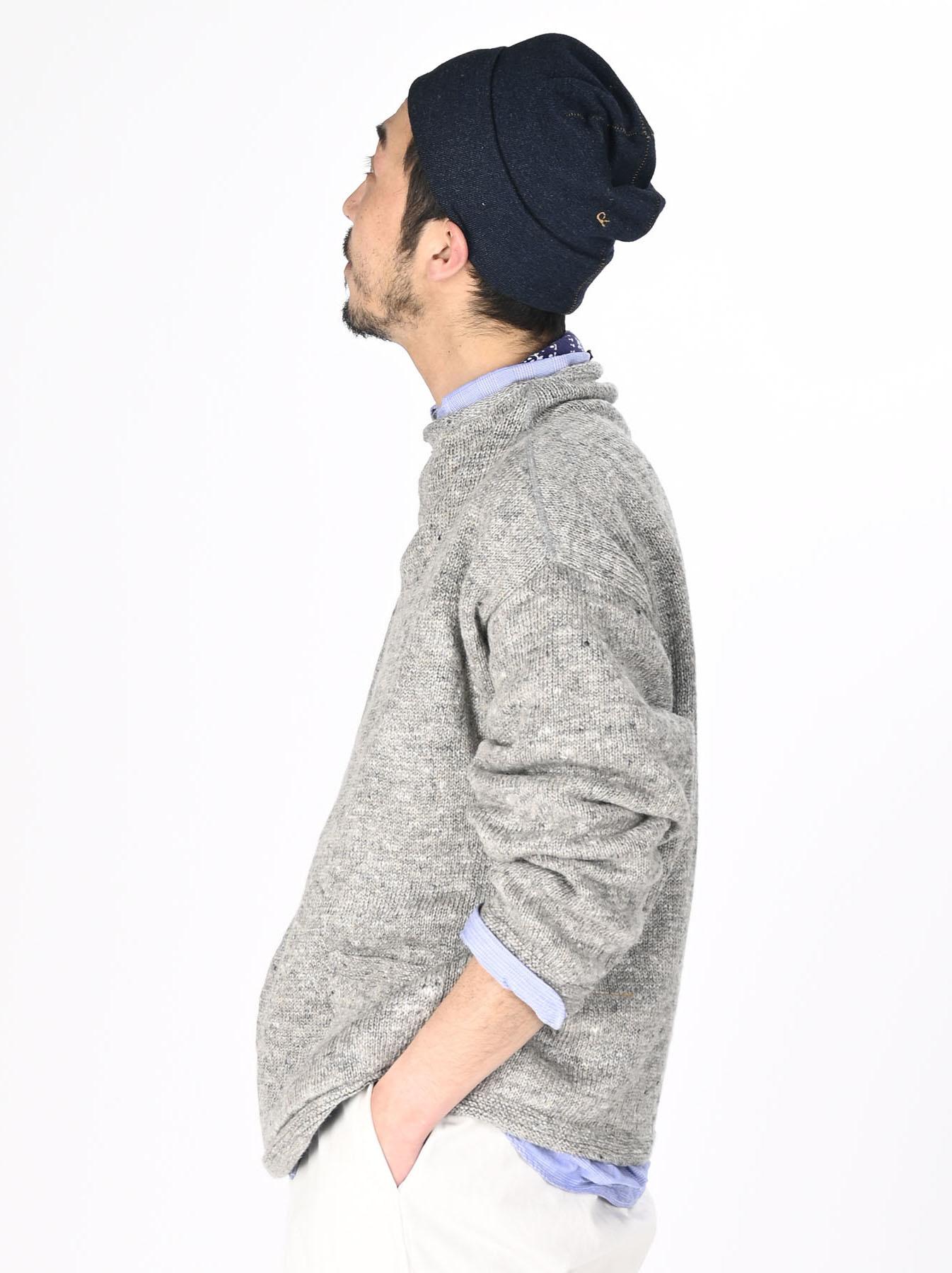 WH Linen Tweed Knit-sew 908 Umahiko Sweater (0321)-4