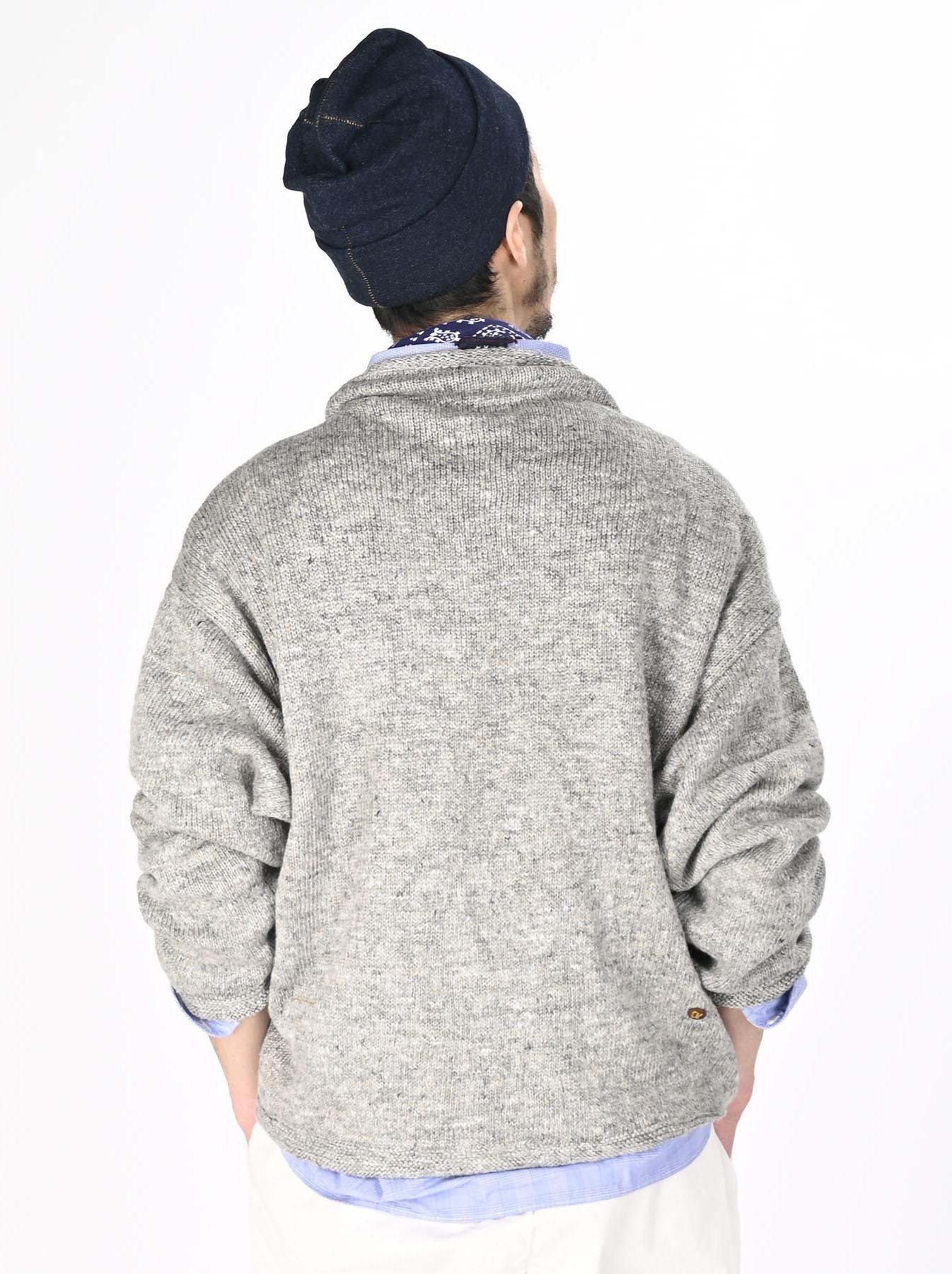 WH Linen Tweed Knit-sew 908 Umahiko Sweater (0321)-5