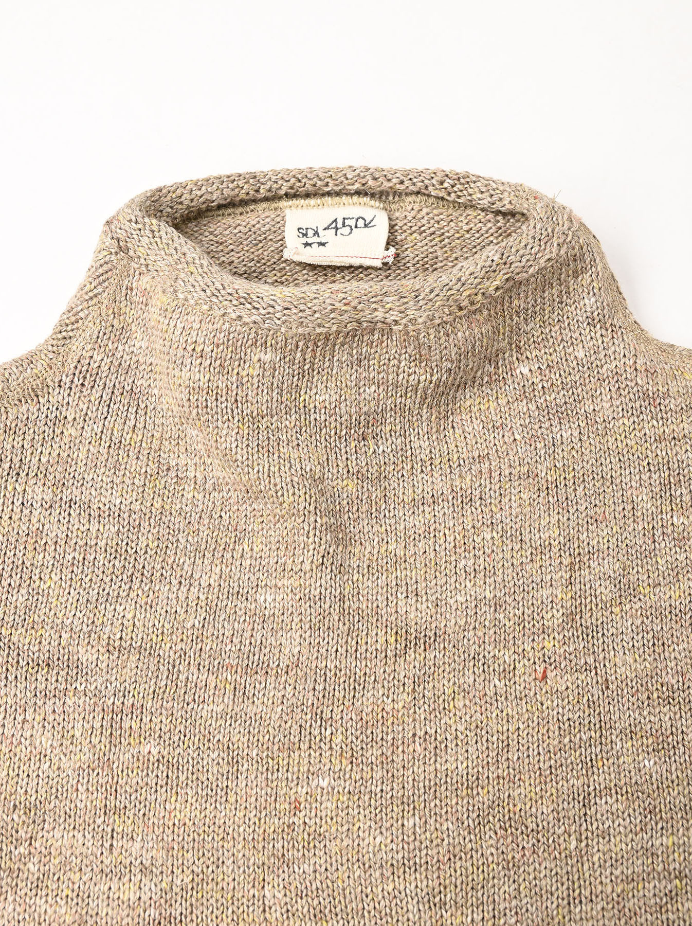 WH Linen Tweed Knit-sew 908 Umahiko Sweater (0321)-11