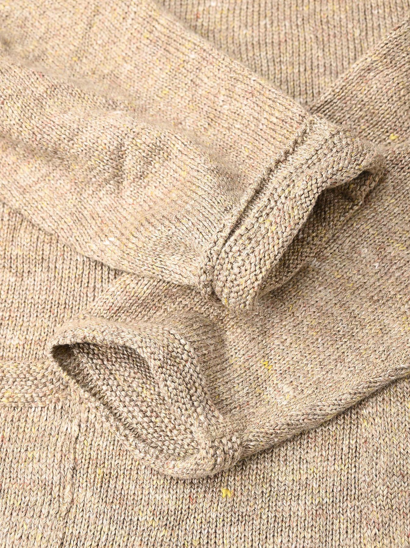 WH Linen Tweed Knit-sew 908 Umahiko Sweater (0321)-12