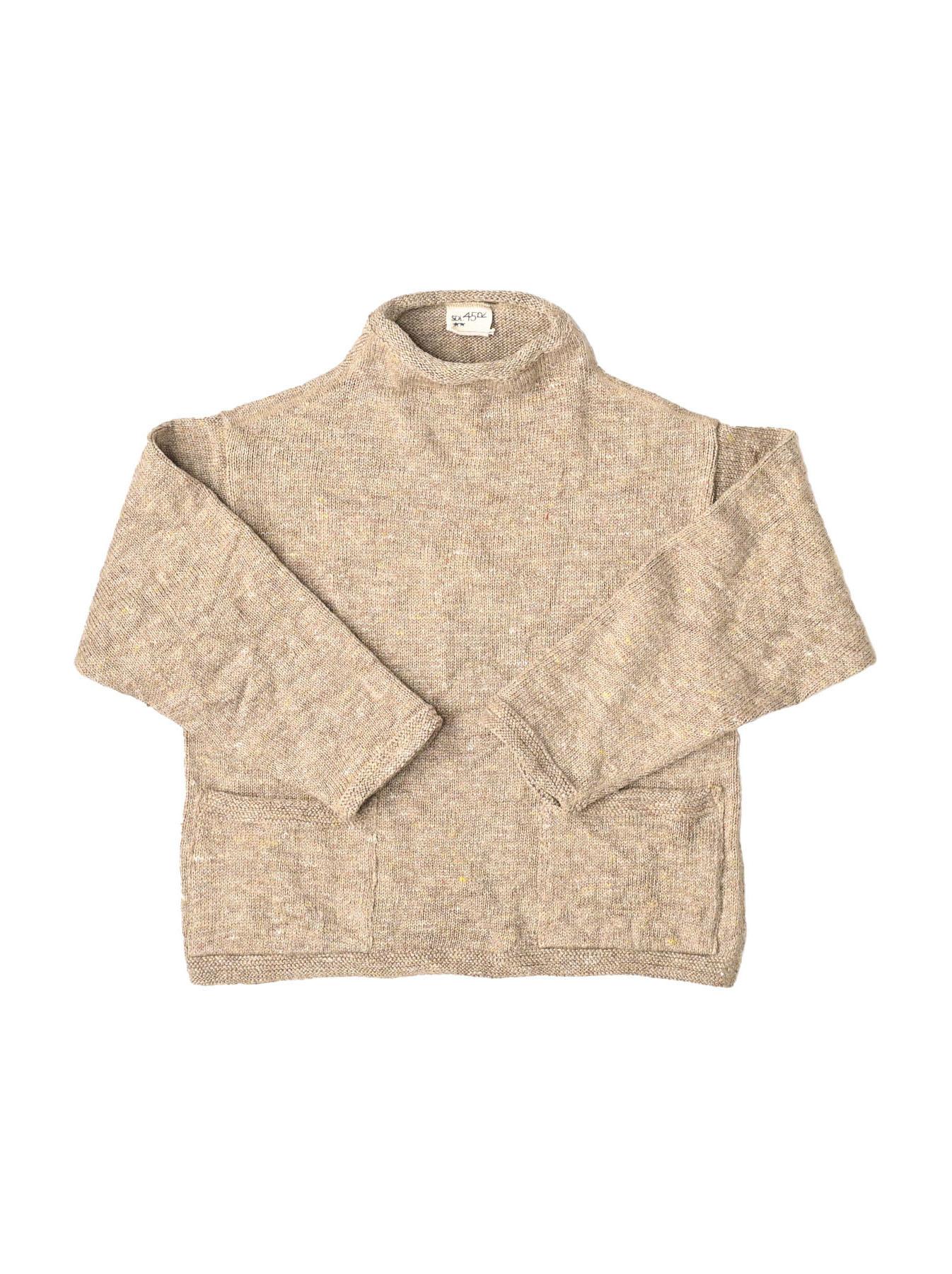 WH Linen Tweed Knit-sew 908 Umahiko Sweater (0321)-10
