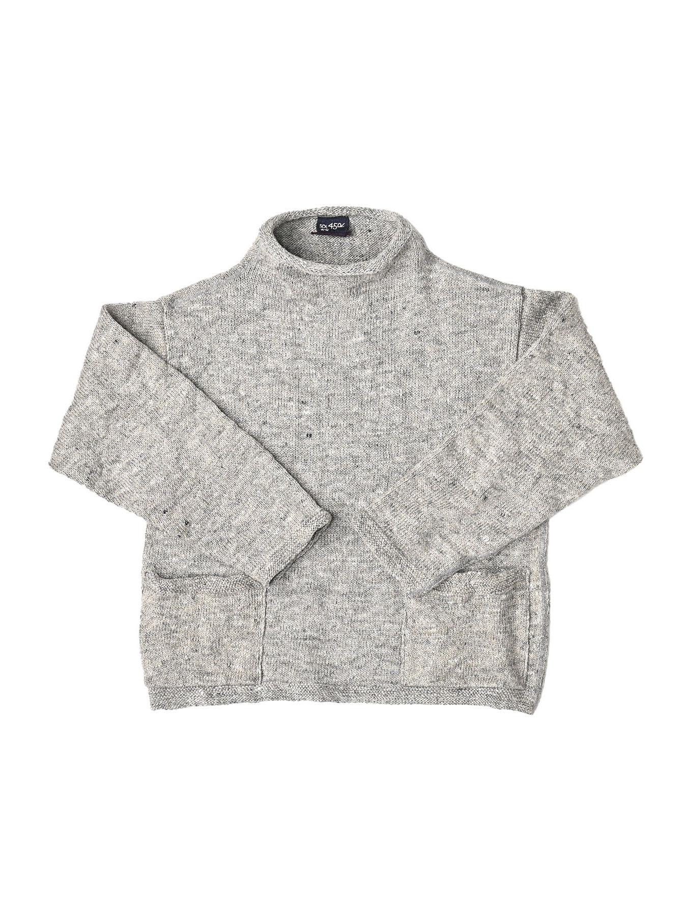 WH Linen Tweed Knit-sew 908 Umahiko Sweater (0321)-9