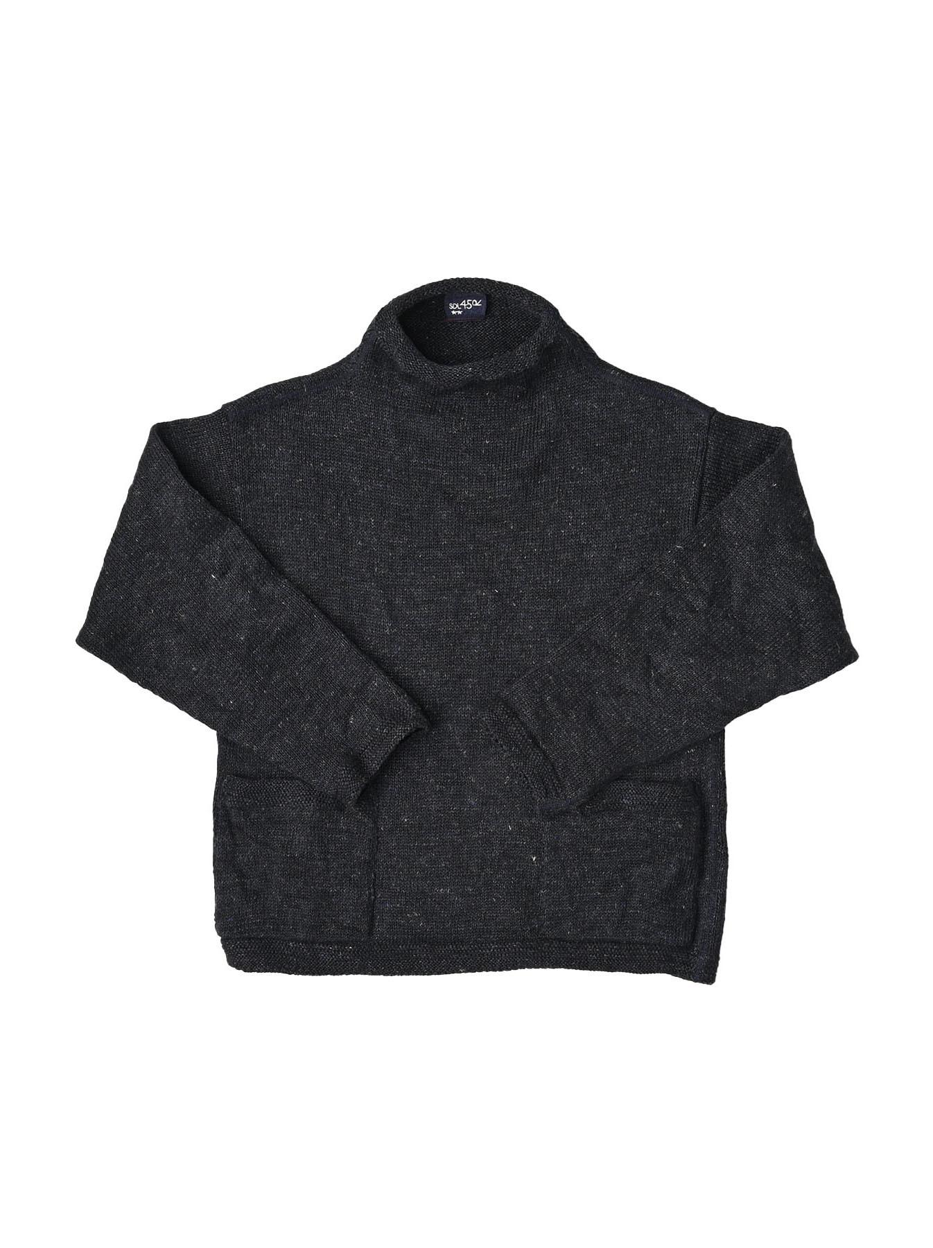 WH Linen Tweed Knit-sew 908 Umahiko Sweater (0321)-1
