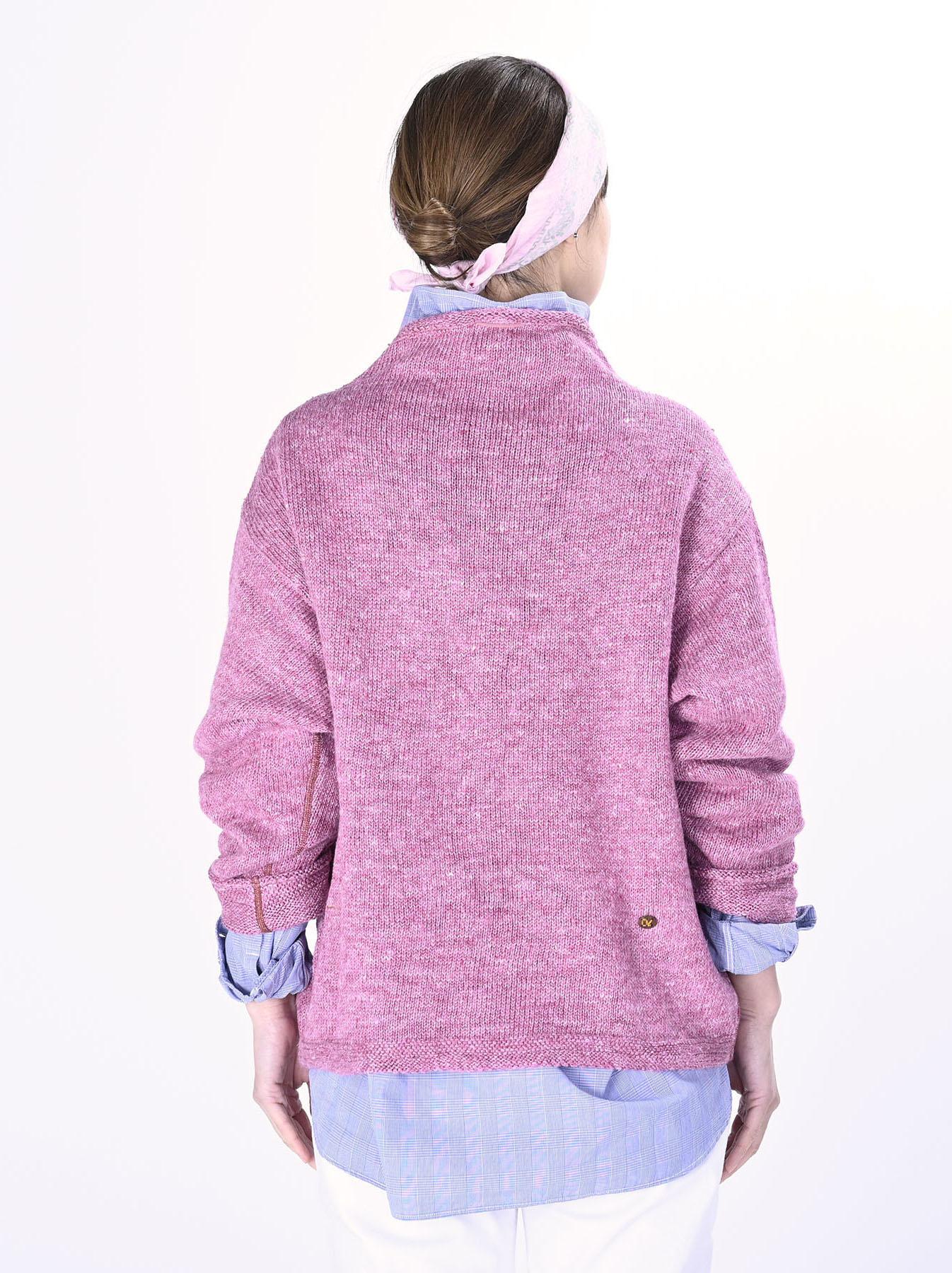 WH Linen Tweed Knit-sew 908 Umahiko Sweater (0321)-8