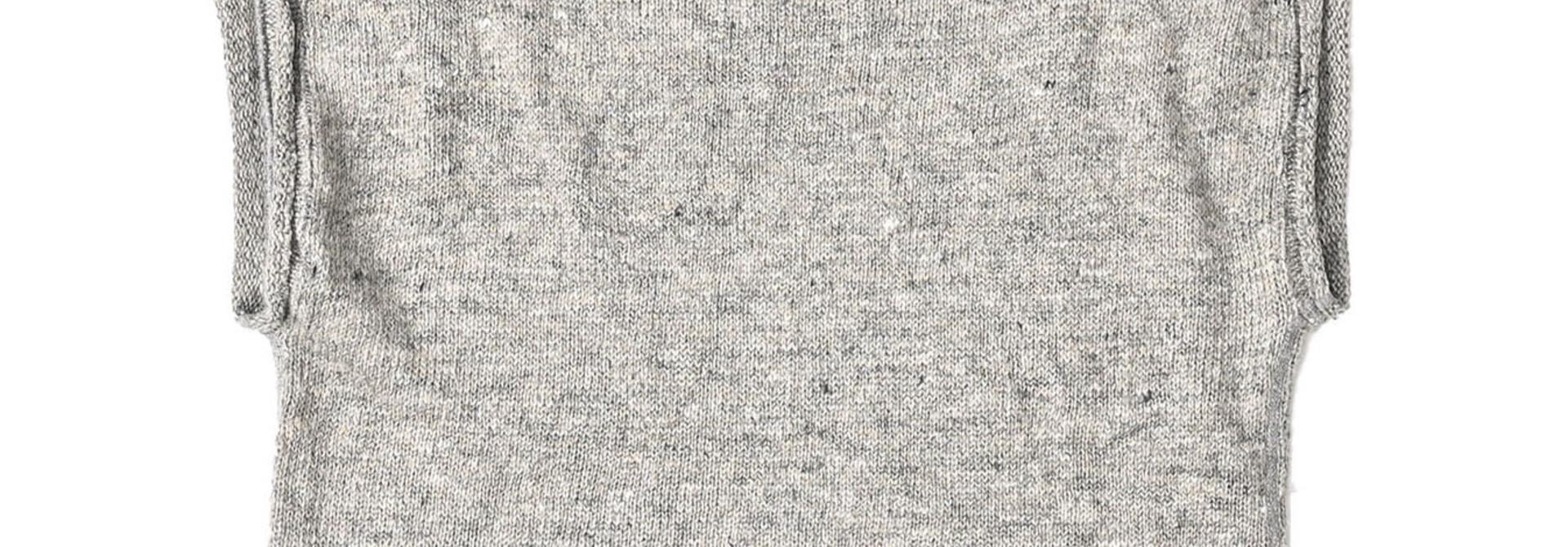 WH Linen Tweed Umahiko 908 Vest (0321)