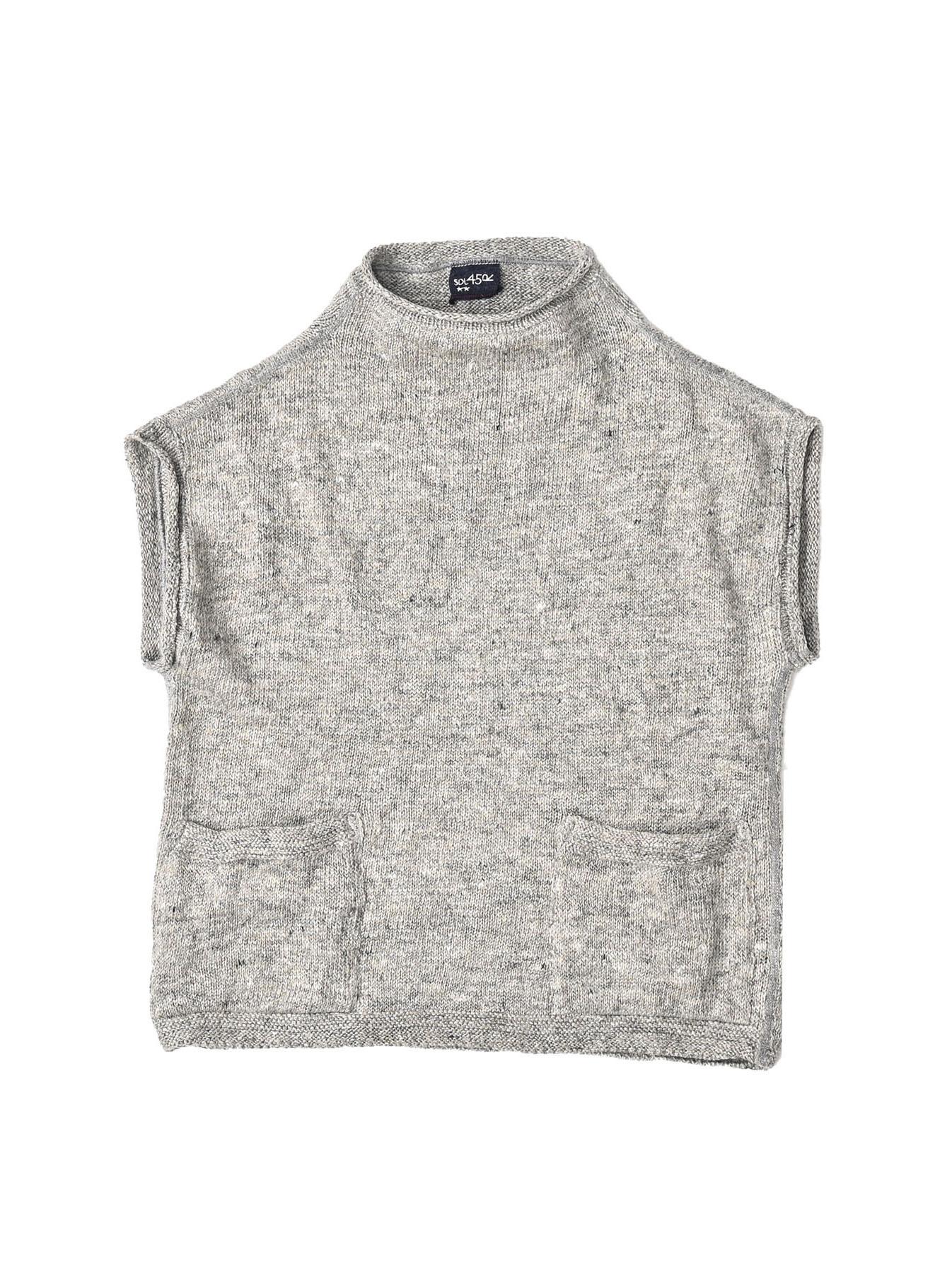 WH Linen Tweed Umahiko 908 Vest (0321)-1