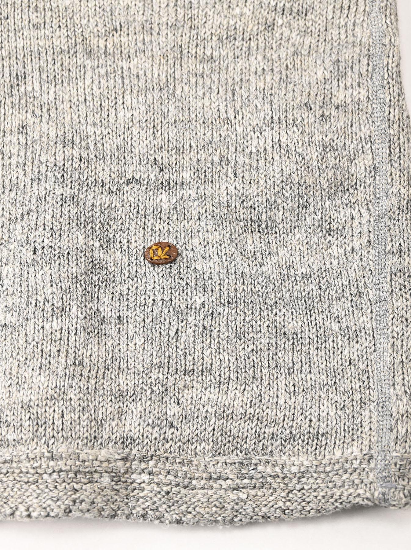 WH Linen Tweed Umahiko 908 Vest (0321)-12