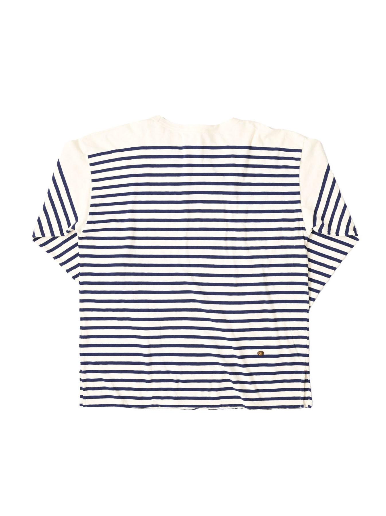 Tenjiku 908 Basque T-shirt Men (0321)-6