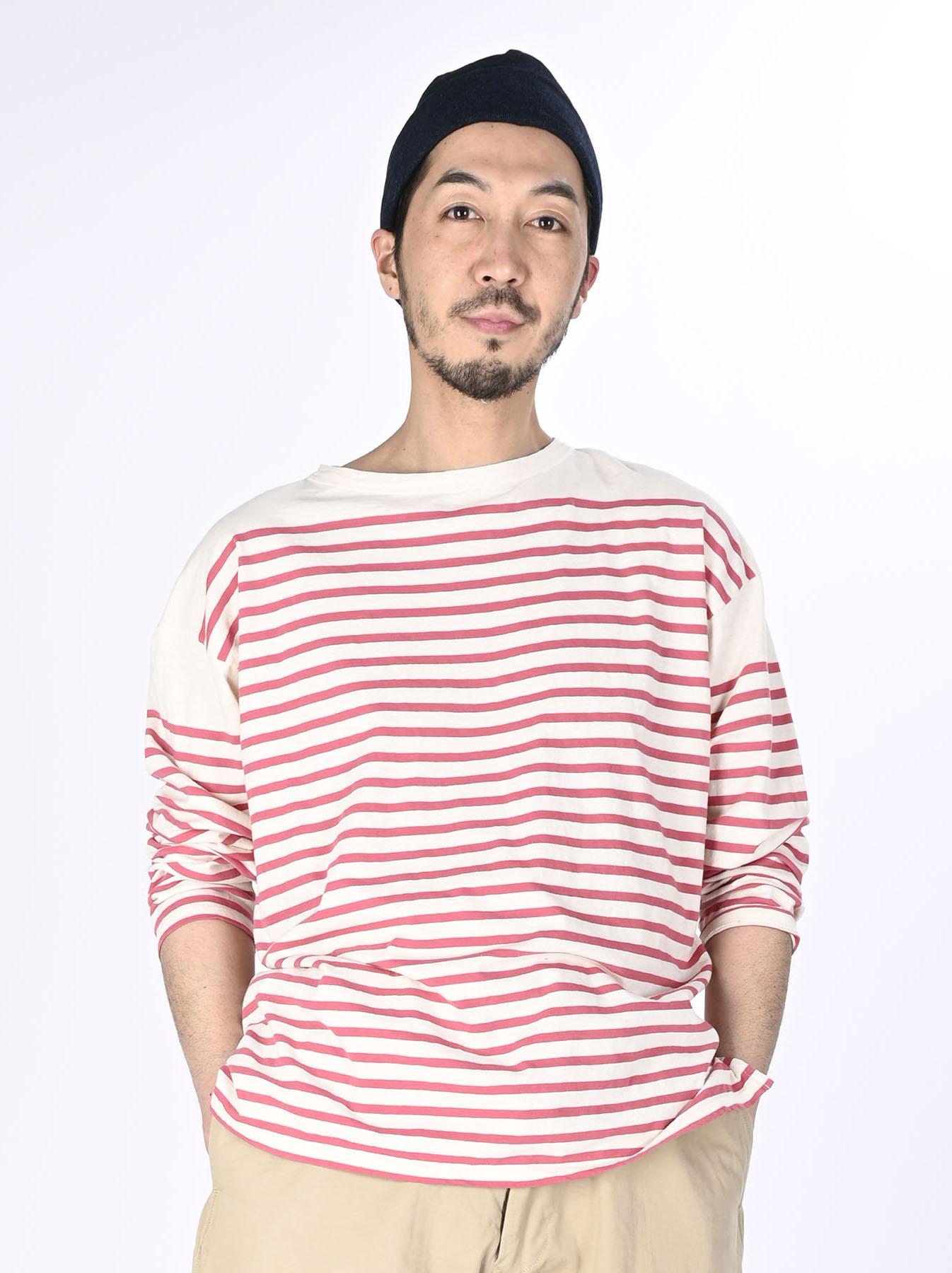 Tenjiku 908 Basque T-shirt Men (0321)-3