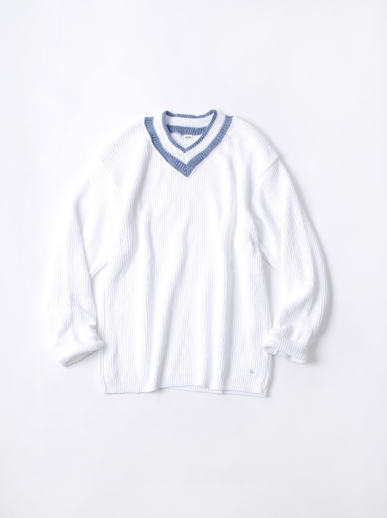 WH Zimbabwe Cotton Cable Knit Sweater-1