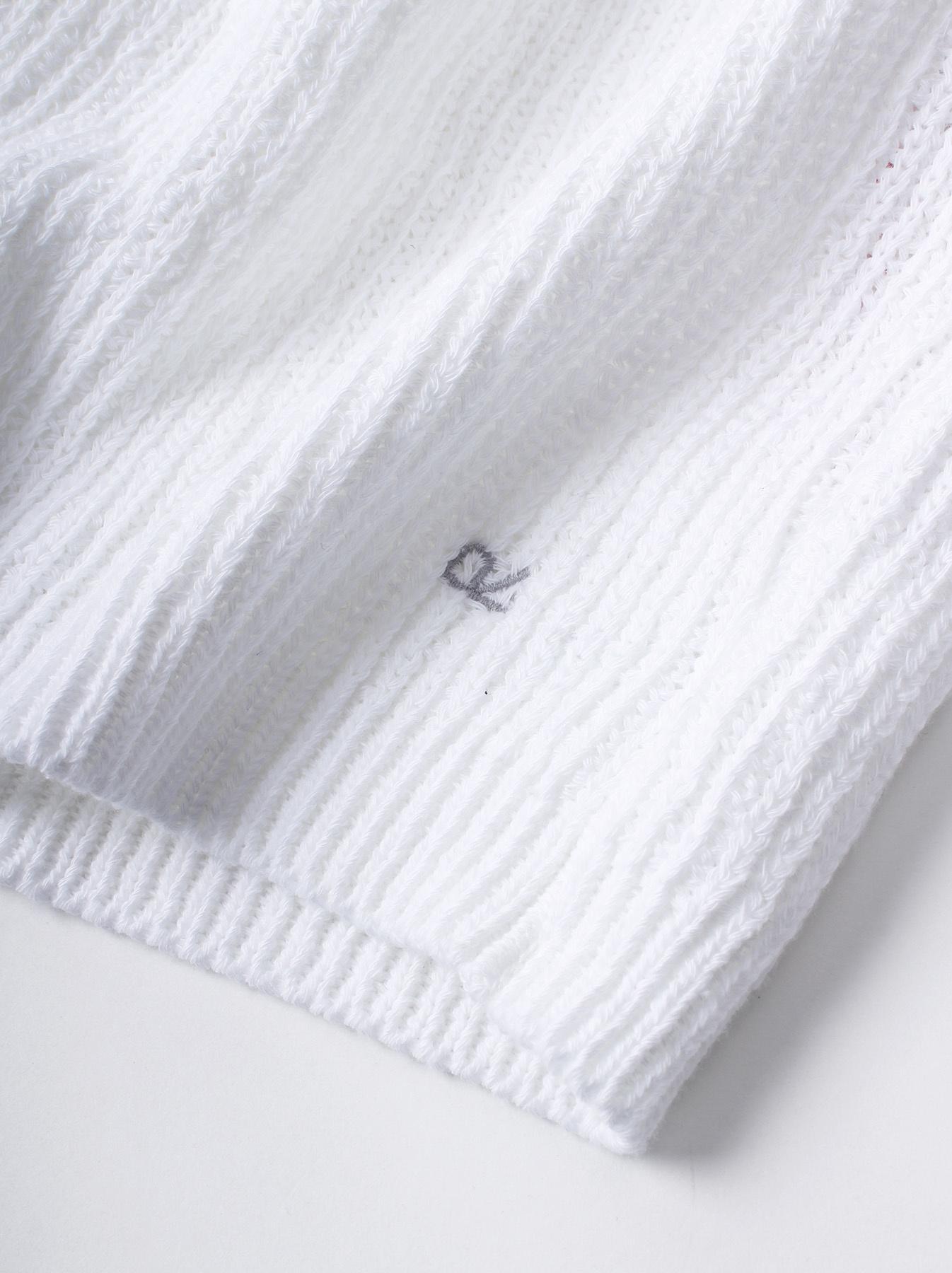 WH Zimbabwe Cotton Cable Knit Sweater-3
