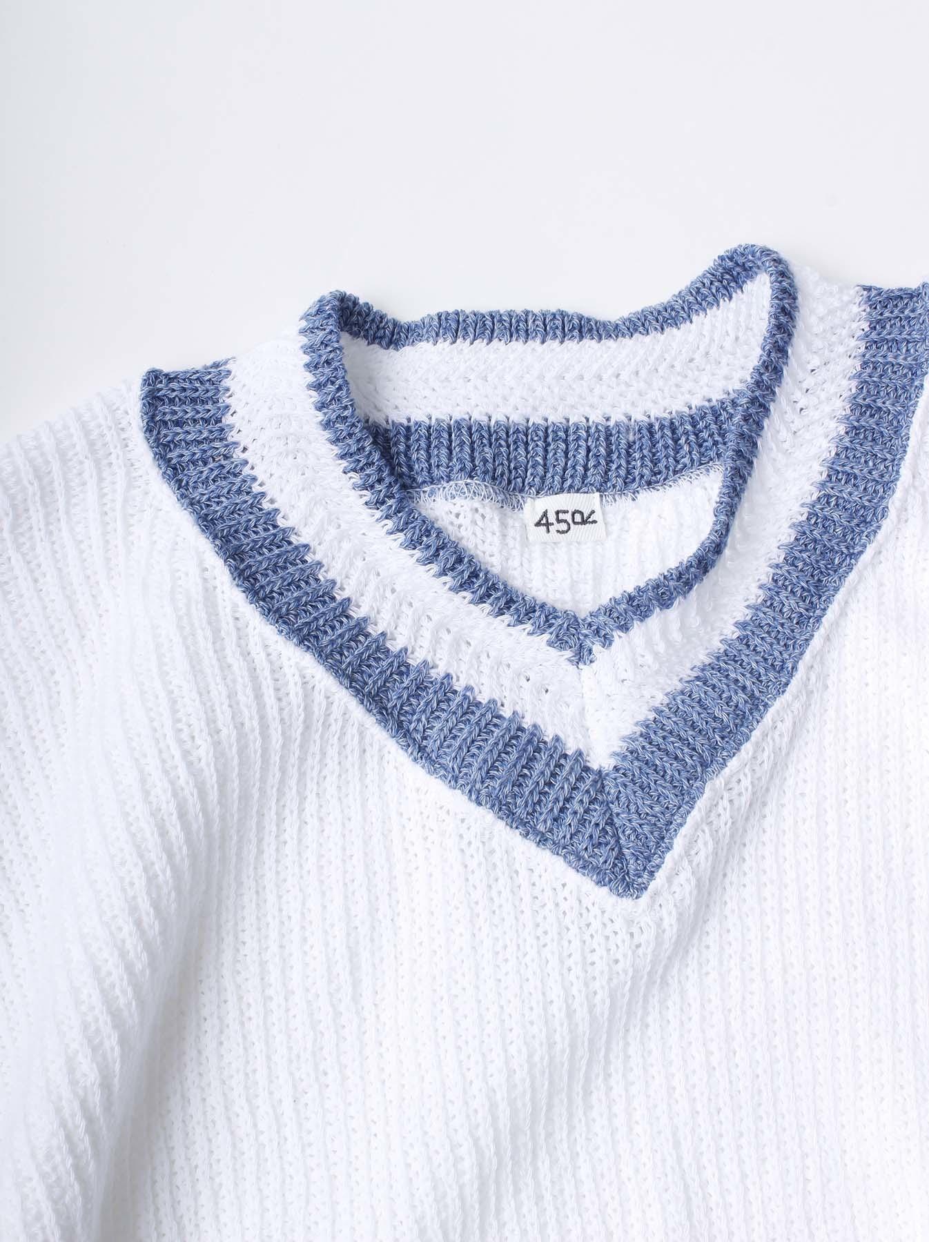 WH Zimbabwe Cotton Cable Knit Sweater-2
