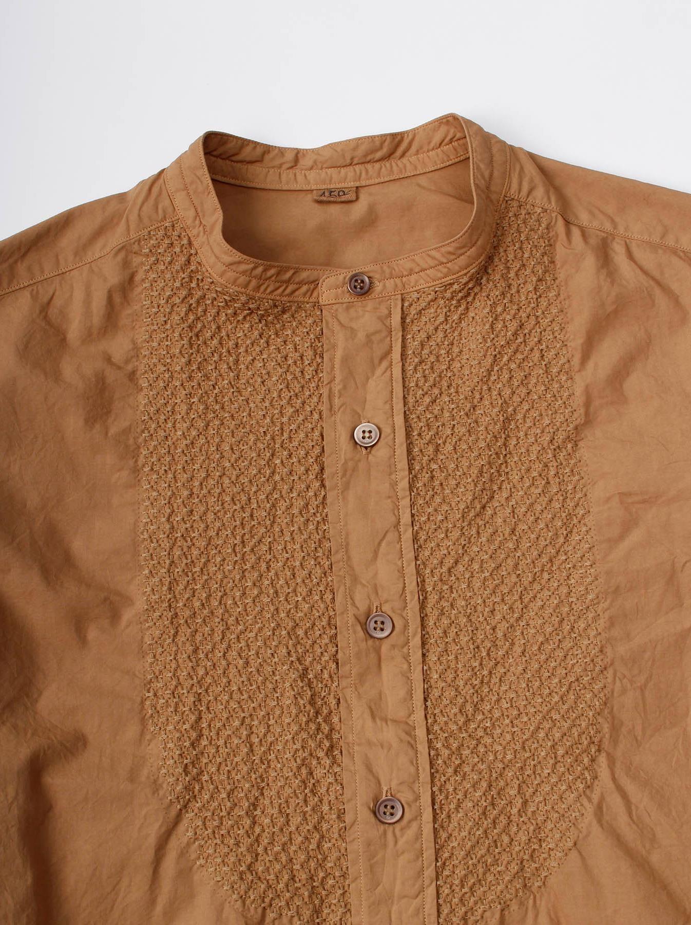 WH Sheet Cloth Sashiko Shirt-8