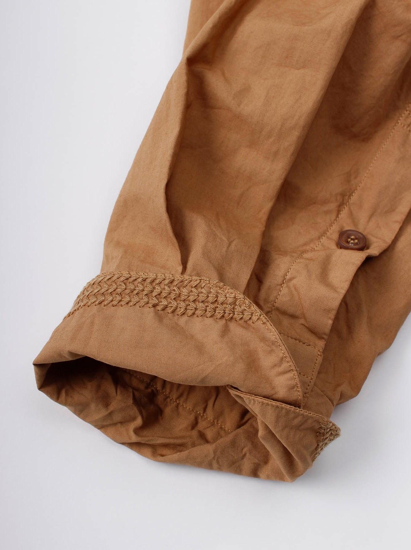 WH Sheet Cloth Sashiko Shirt-9