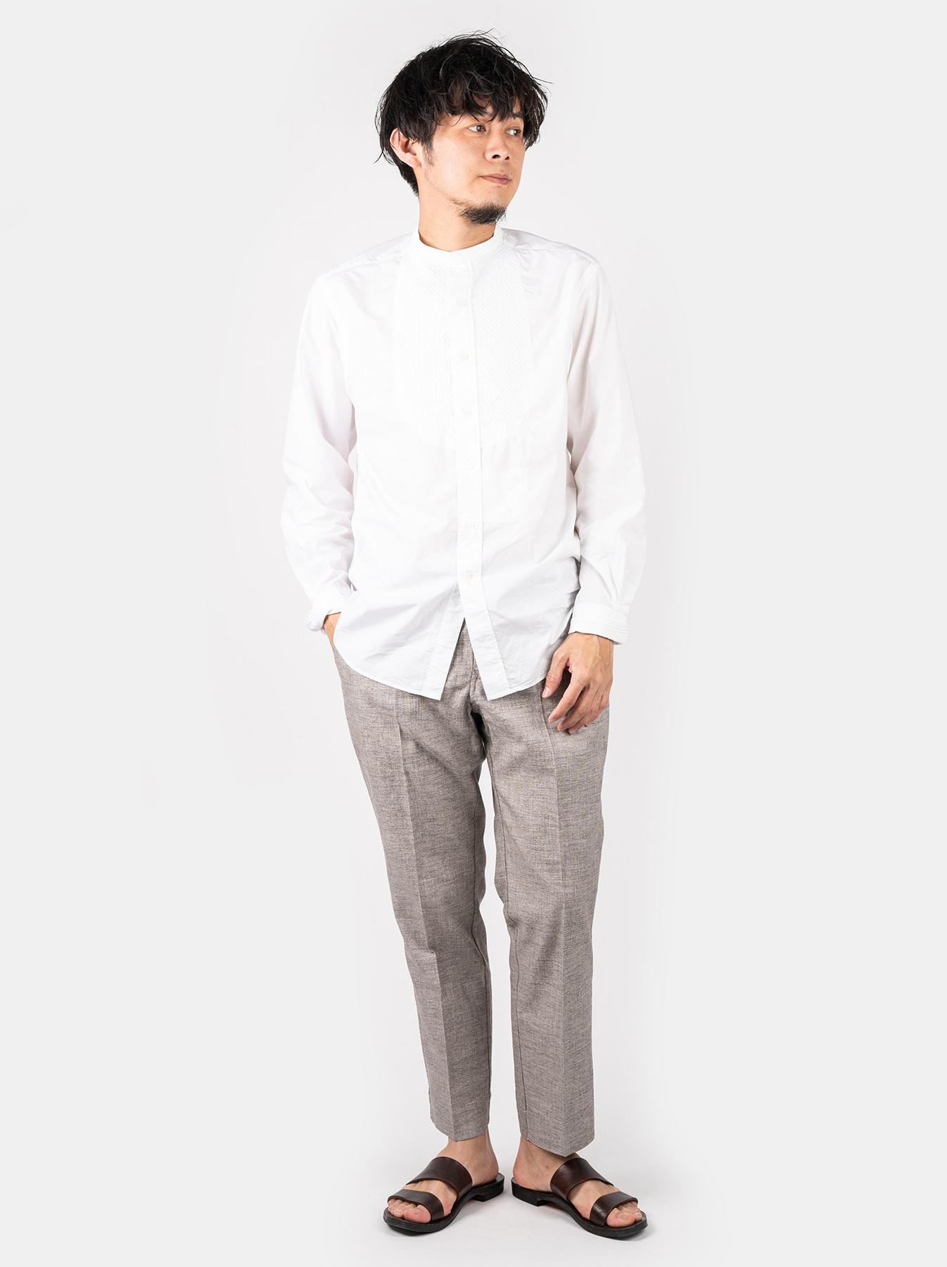WH Sheet Cloth Sashiko Shirt-6