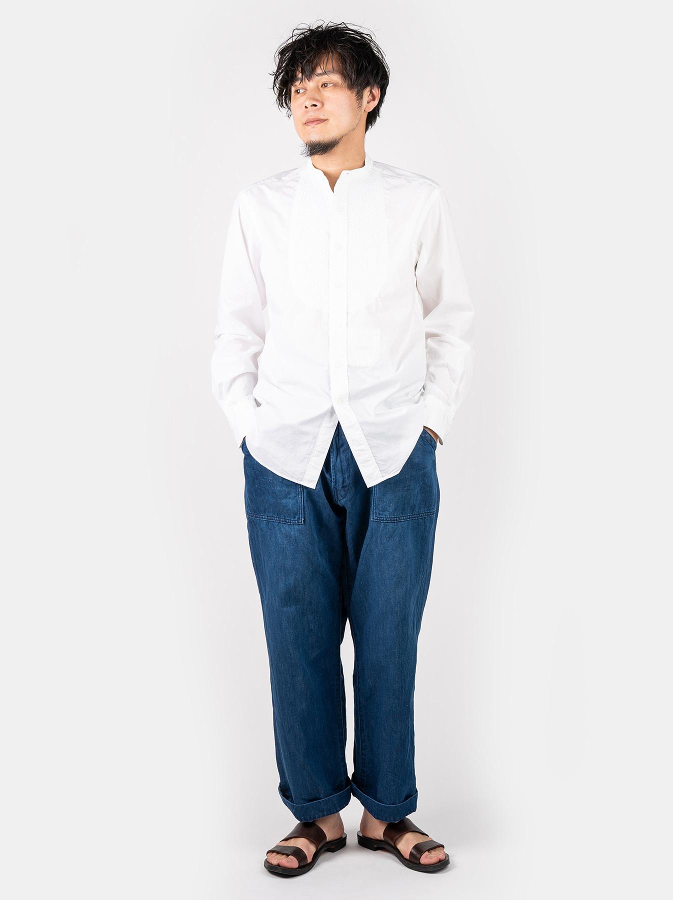 WH Sheet Cloth Sashiko Shirt-2