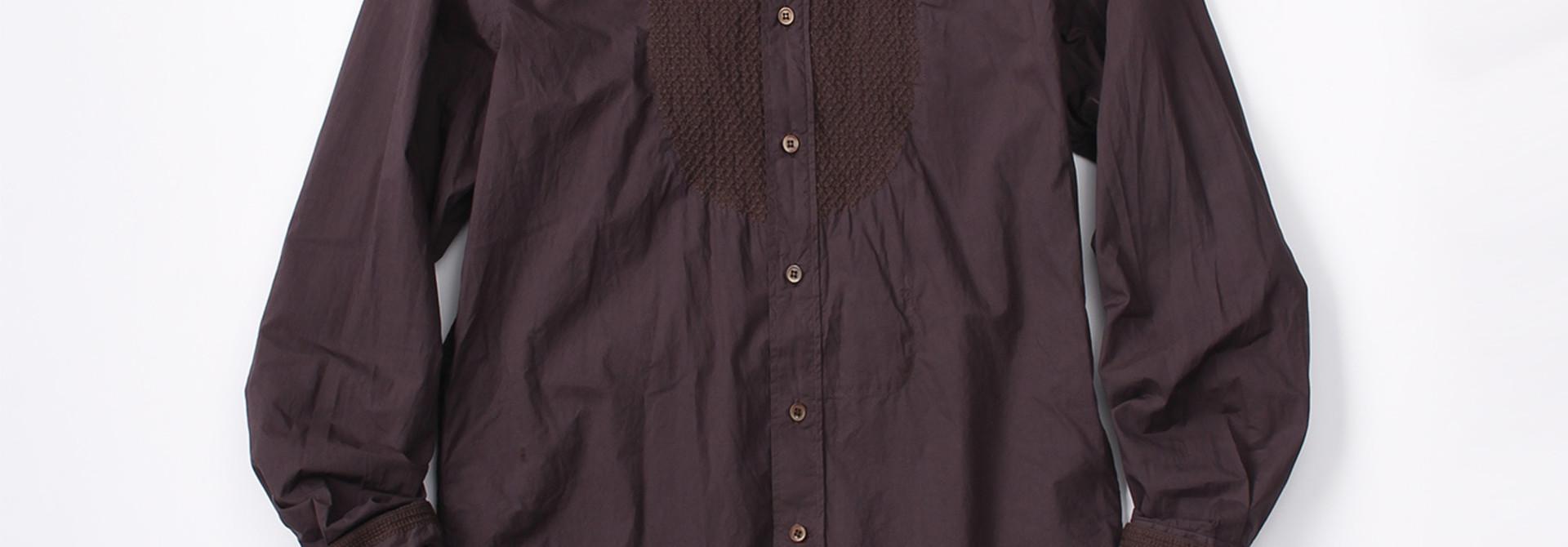 WH Sheet Cloth Sashiko Shirt