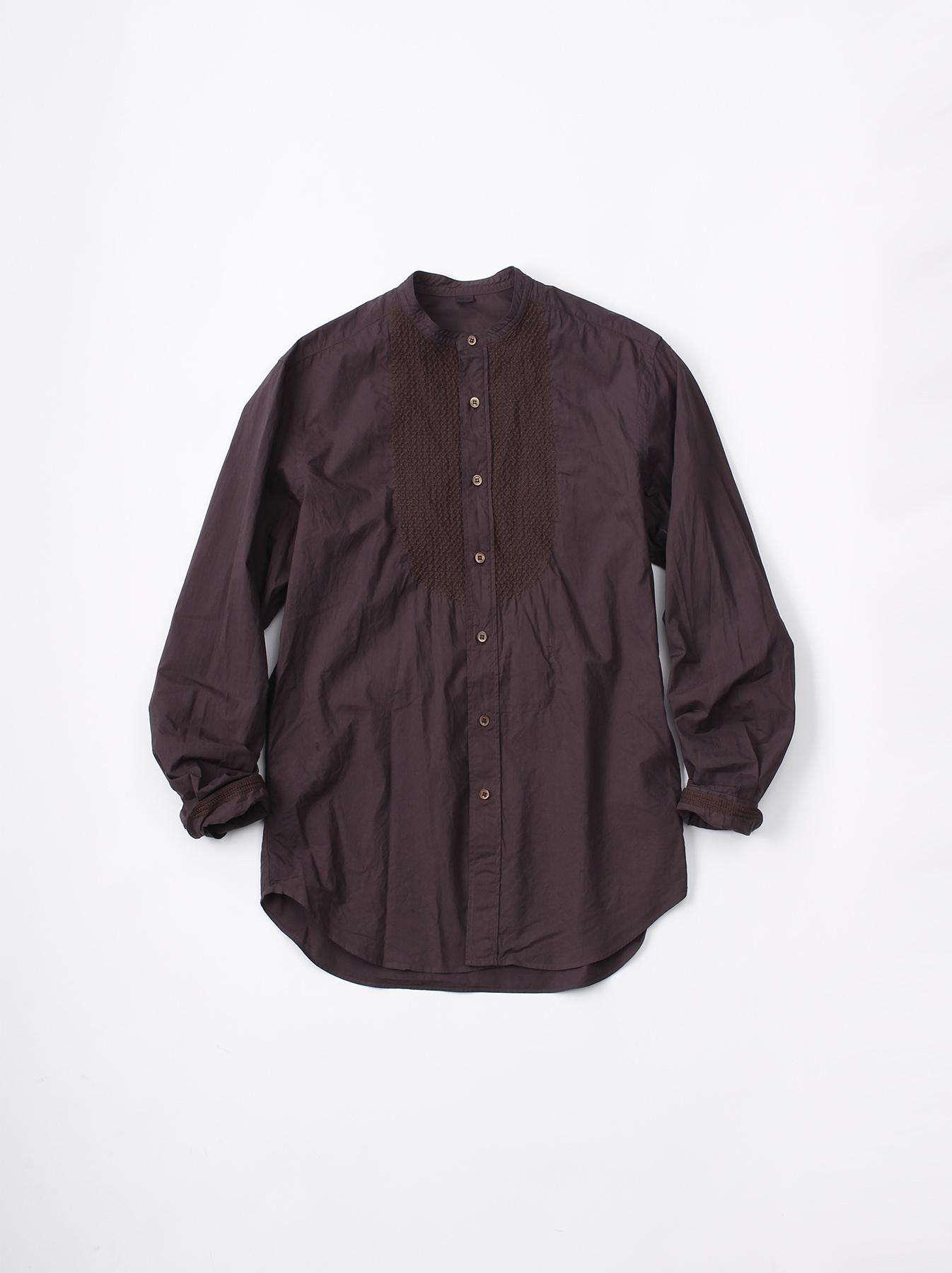 WH Sheet Cloth Sashiko Shirt-1
