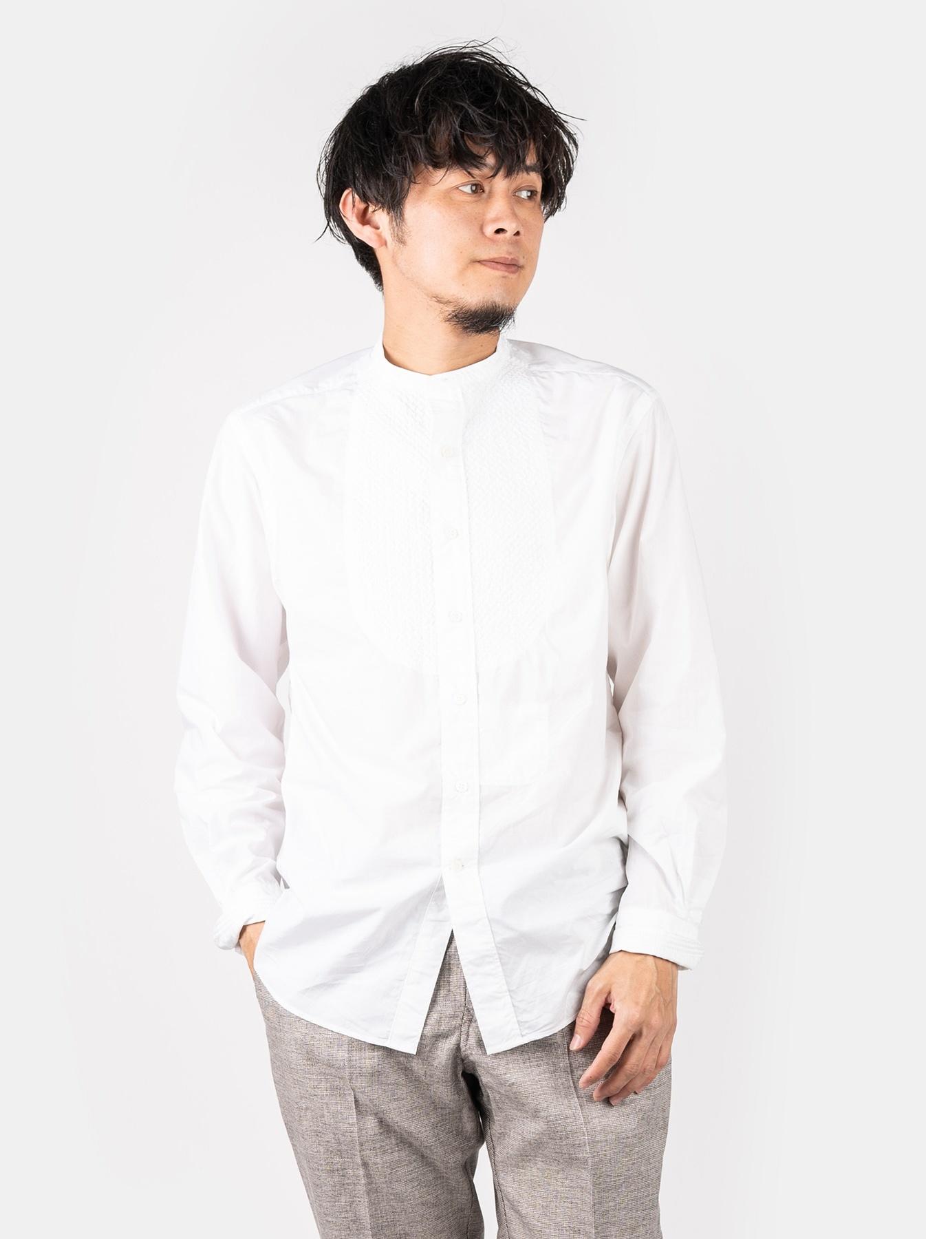 WH Sheet Cloth Sashiko Shirt-3