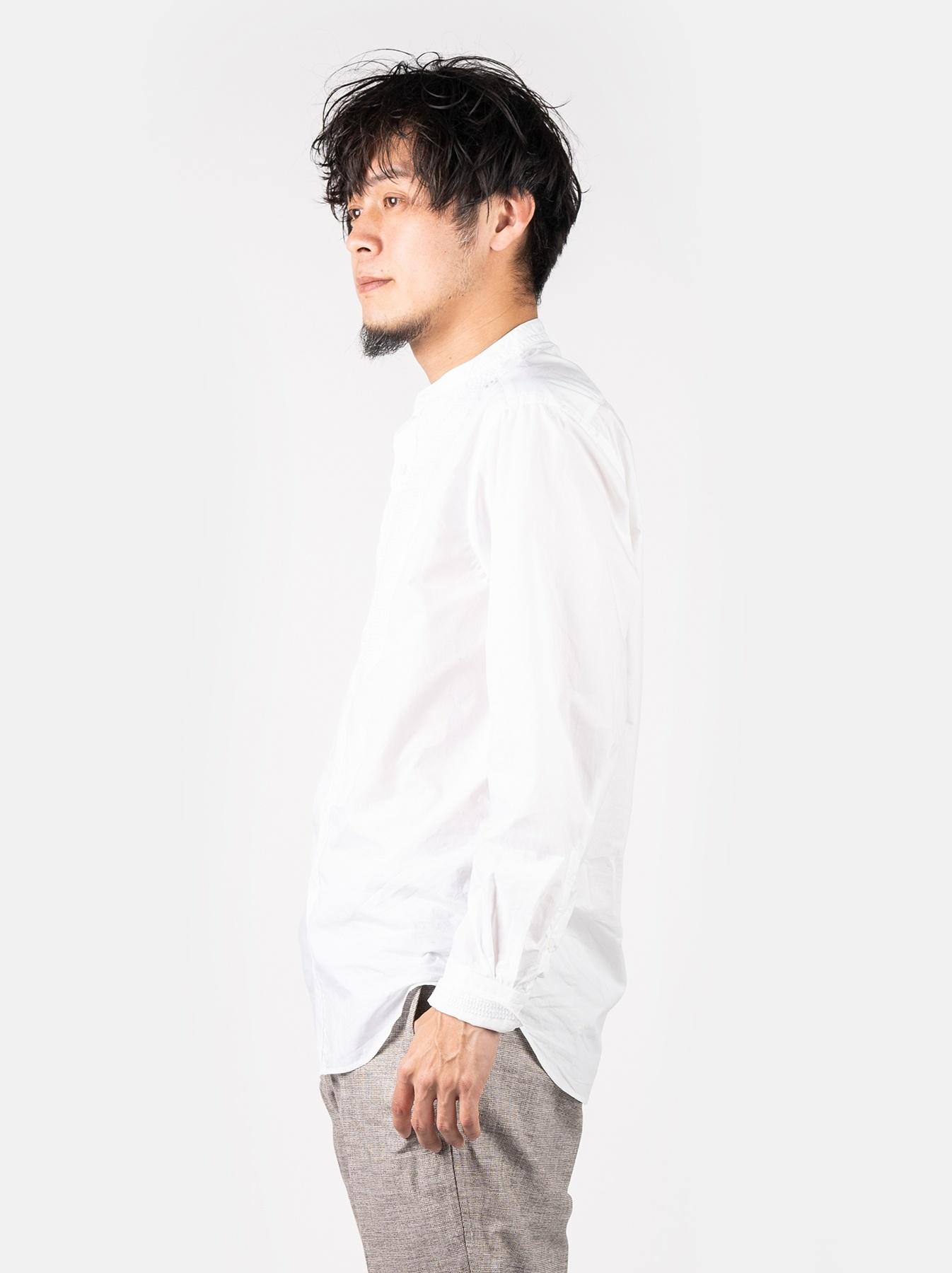 WH Sheet Cloth Sashiko Shirt-4