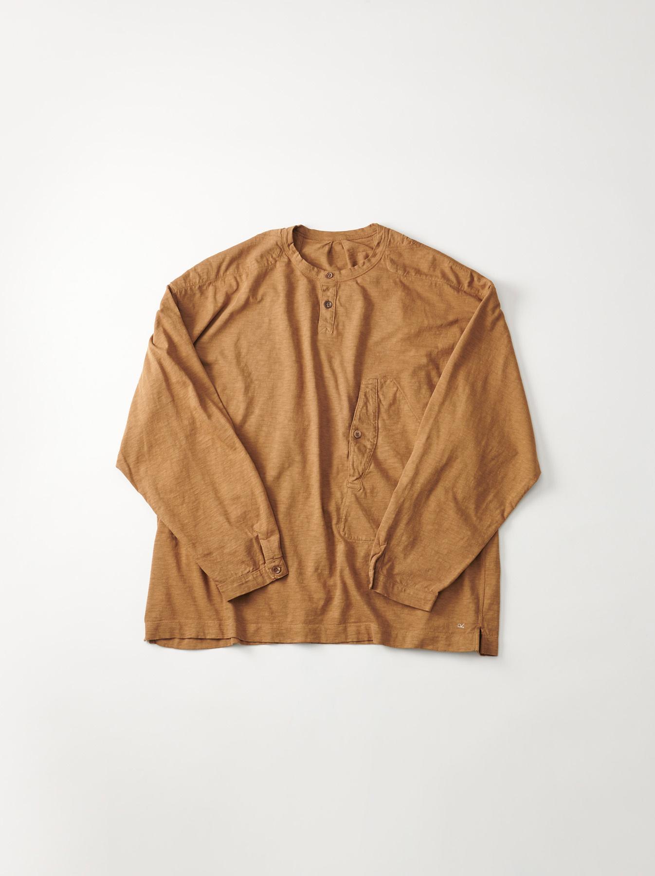 WH Tenjiku Stand Pullover Shirt-6