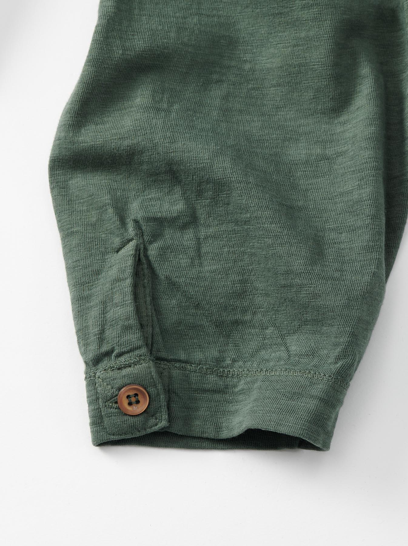 WH Tenjiku Stand Pullover Shirt-8