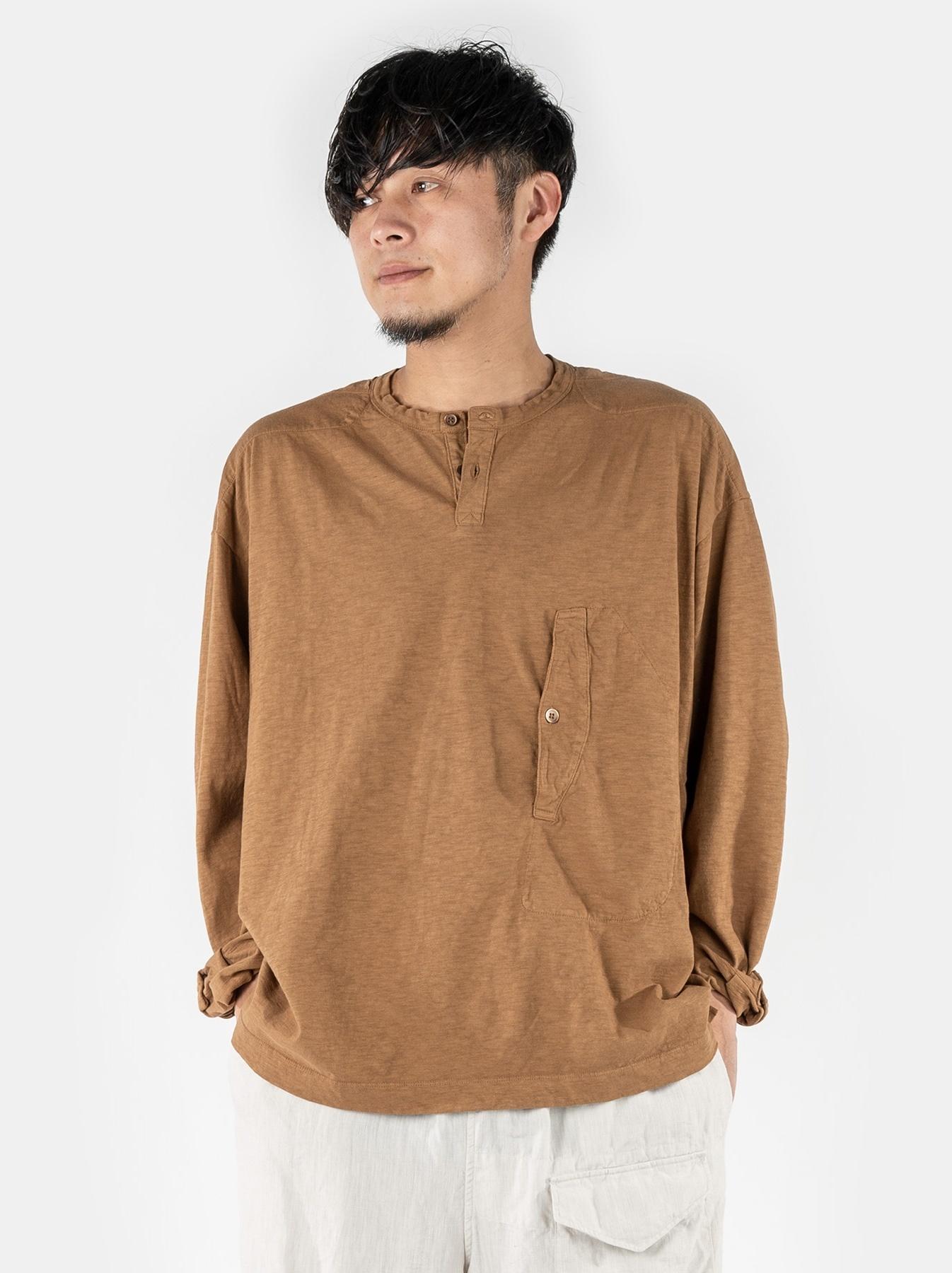 WH Tenjiku Stand Pullover Shirt-3