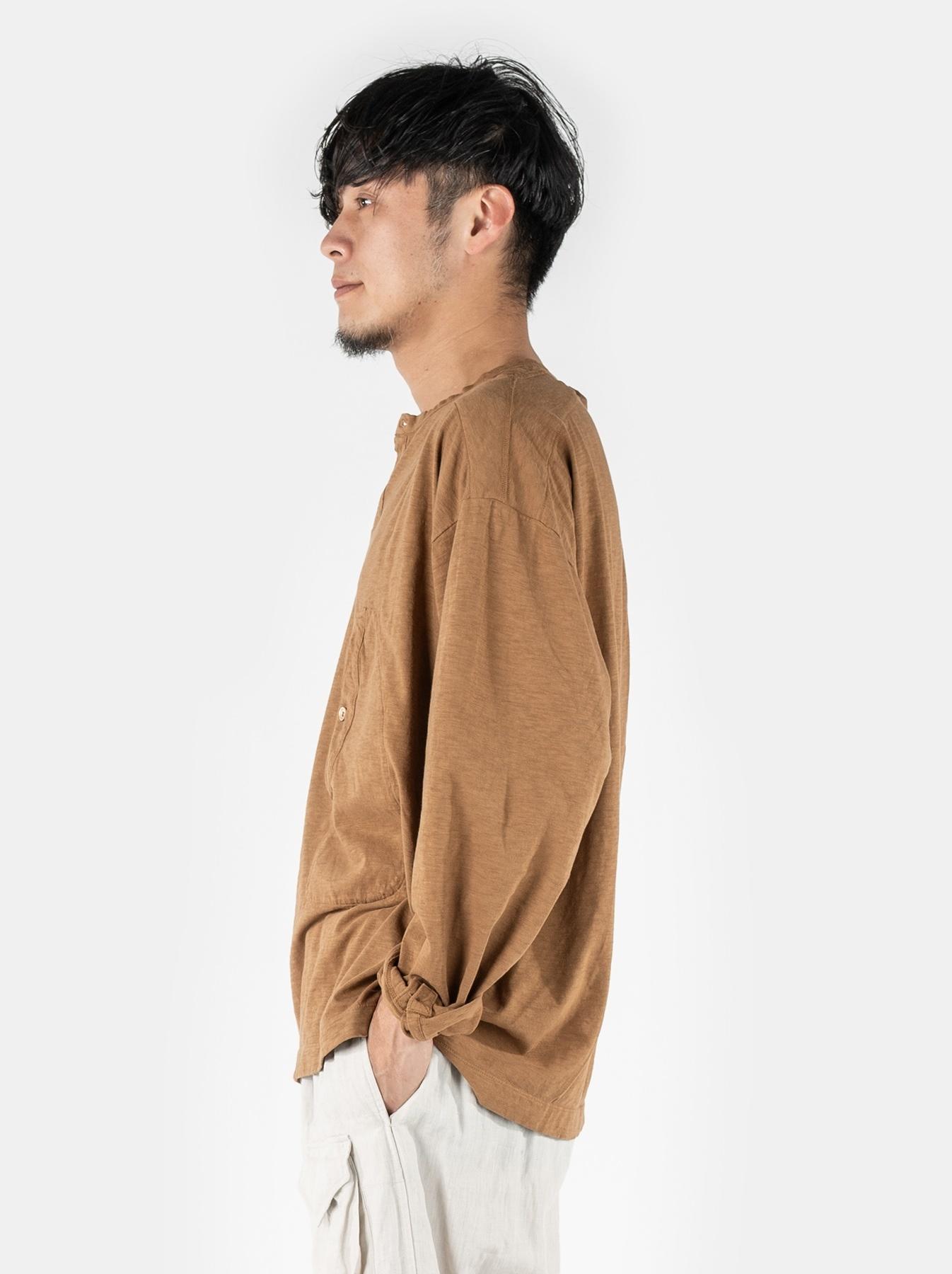WH Tenjiku Stand Pullover Shirt-4