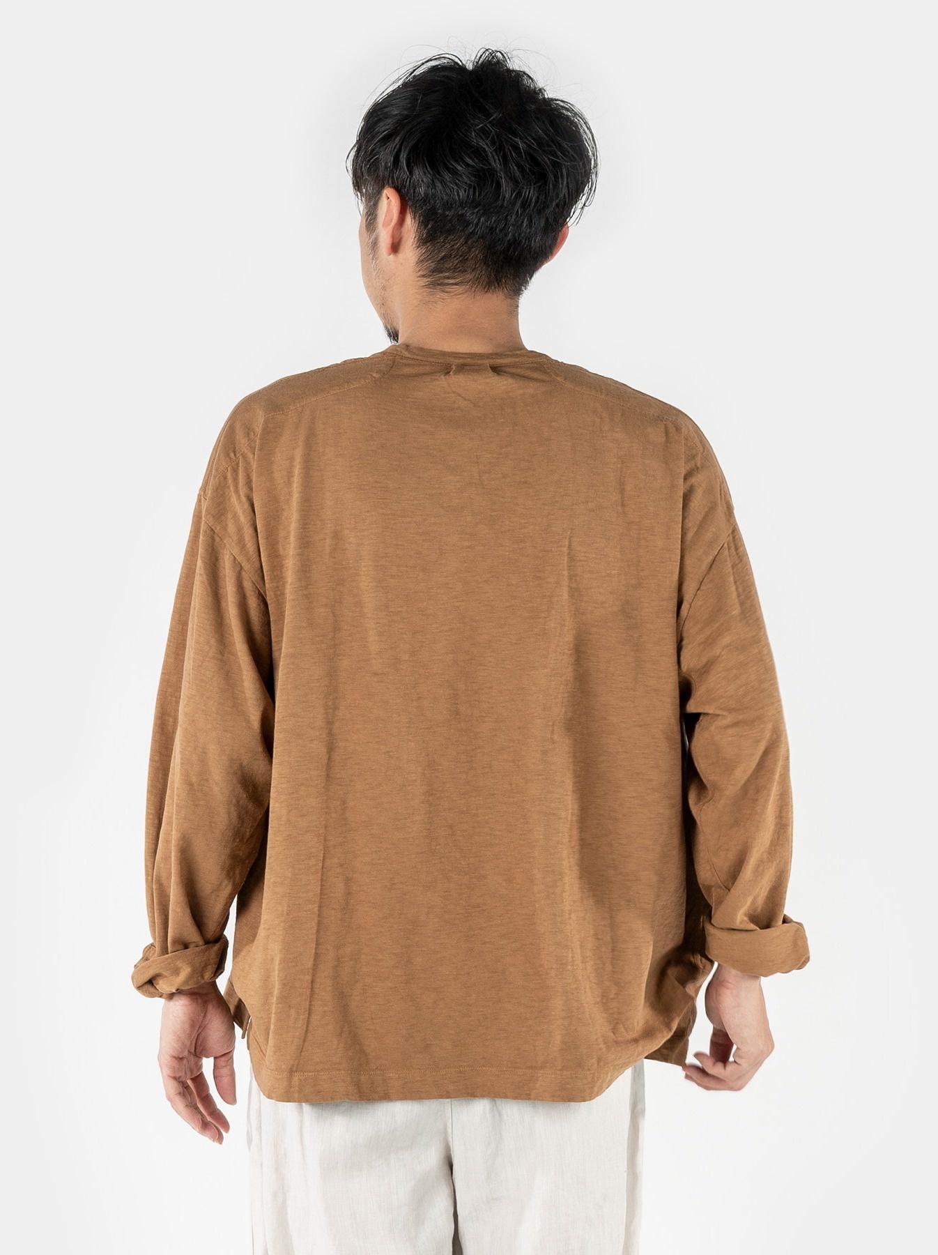WH Tenjiku Stand Pullover Shirt-5