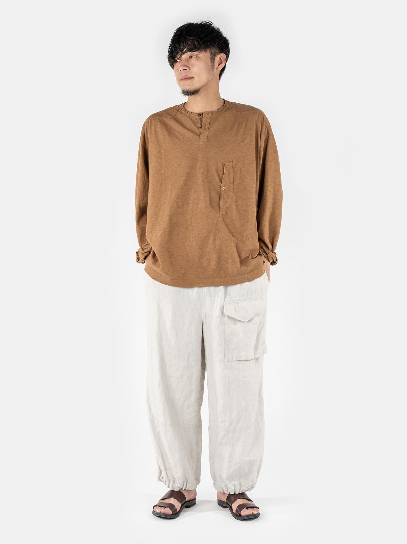 WH Tenjiku Stand Pullover Shirt-2