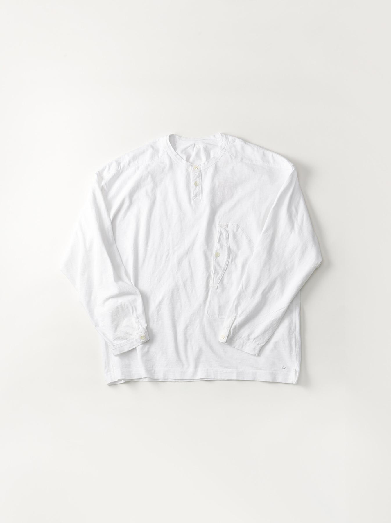 WH Tenjiku Stand Pullover Shirt-1