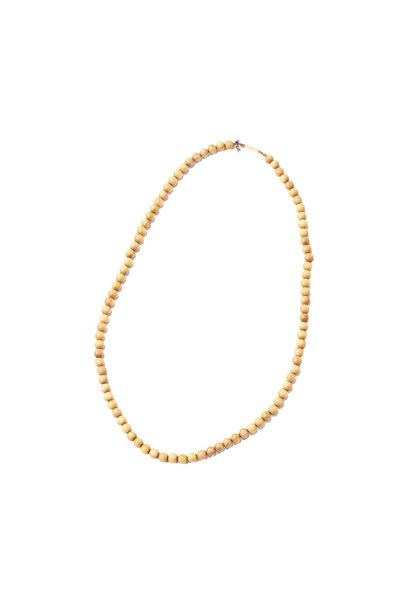 Sandalwood Long Necklace (0321)