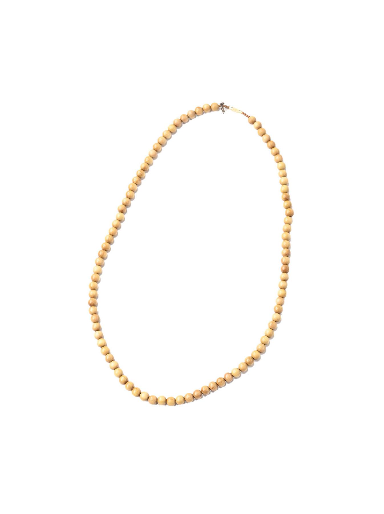 Sandalwood Long Necklace (0321)-1