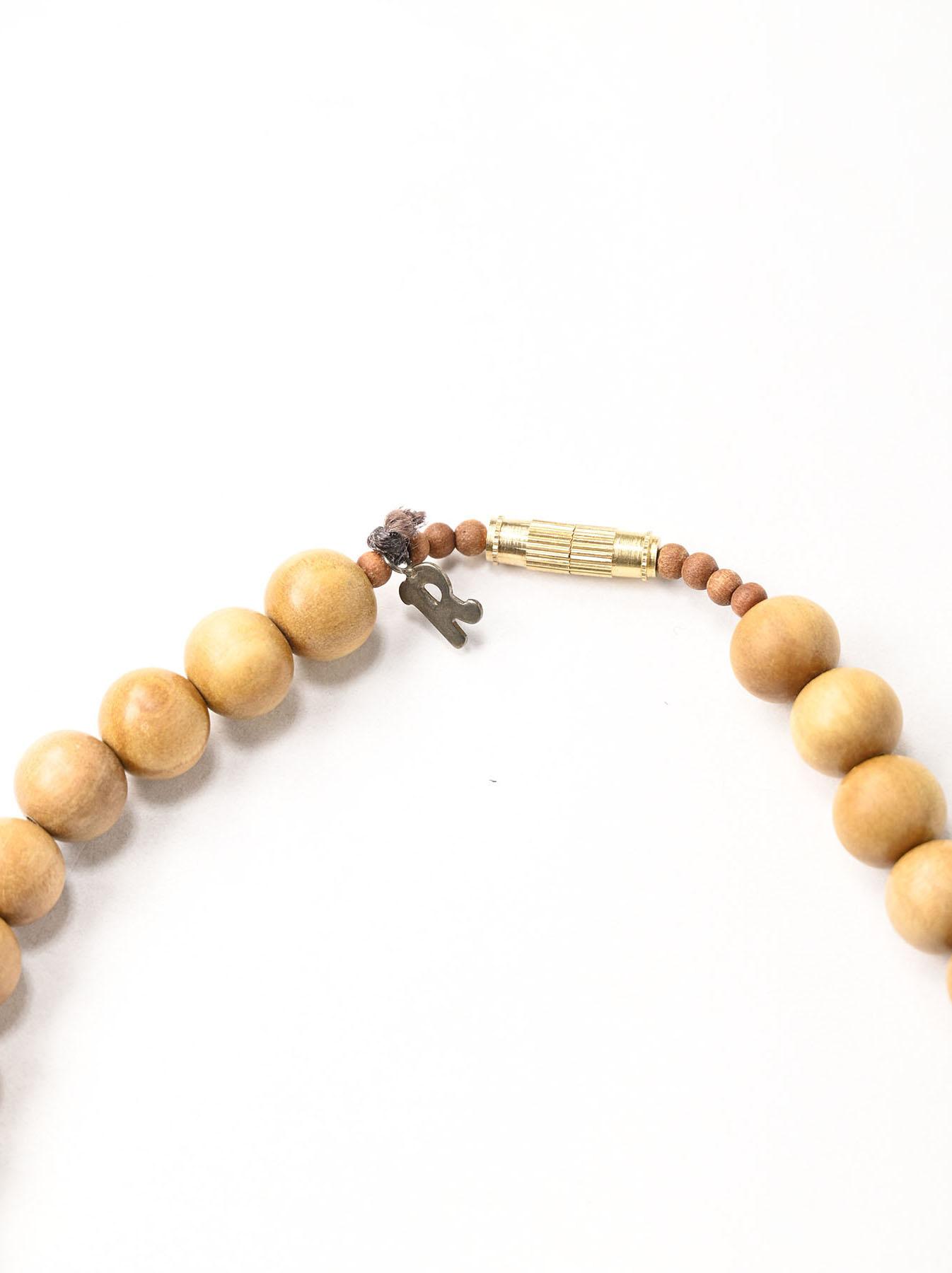 Sandalwood Long Necklace (0321)-5