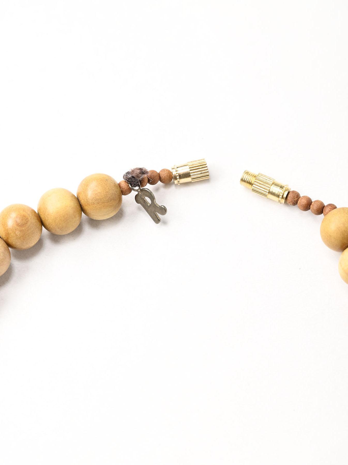 Sandalwood Long Necklace (0321)-6