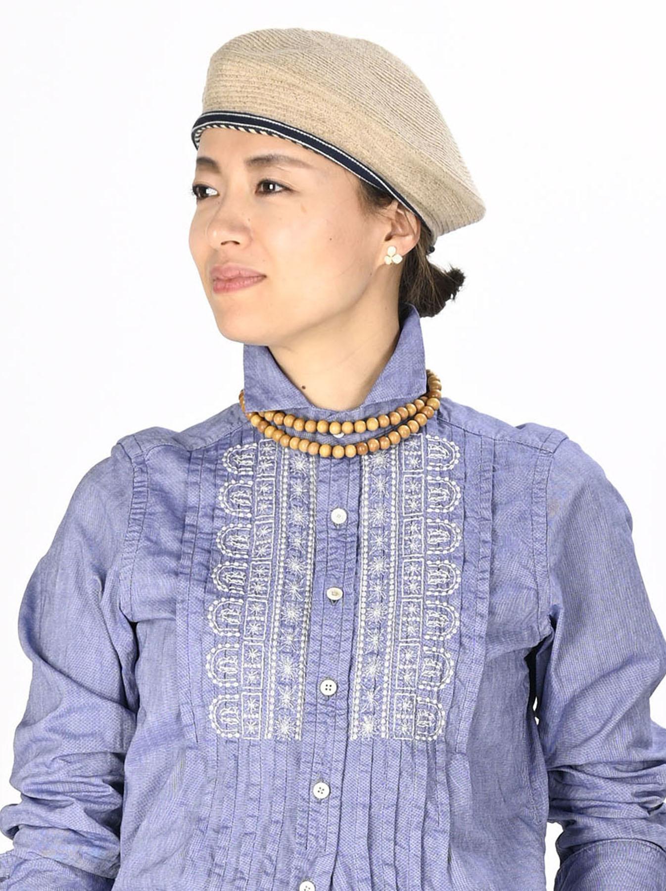 Sandalwood Long Necklace (0321)-2